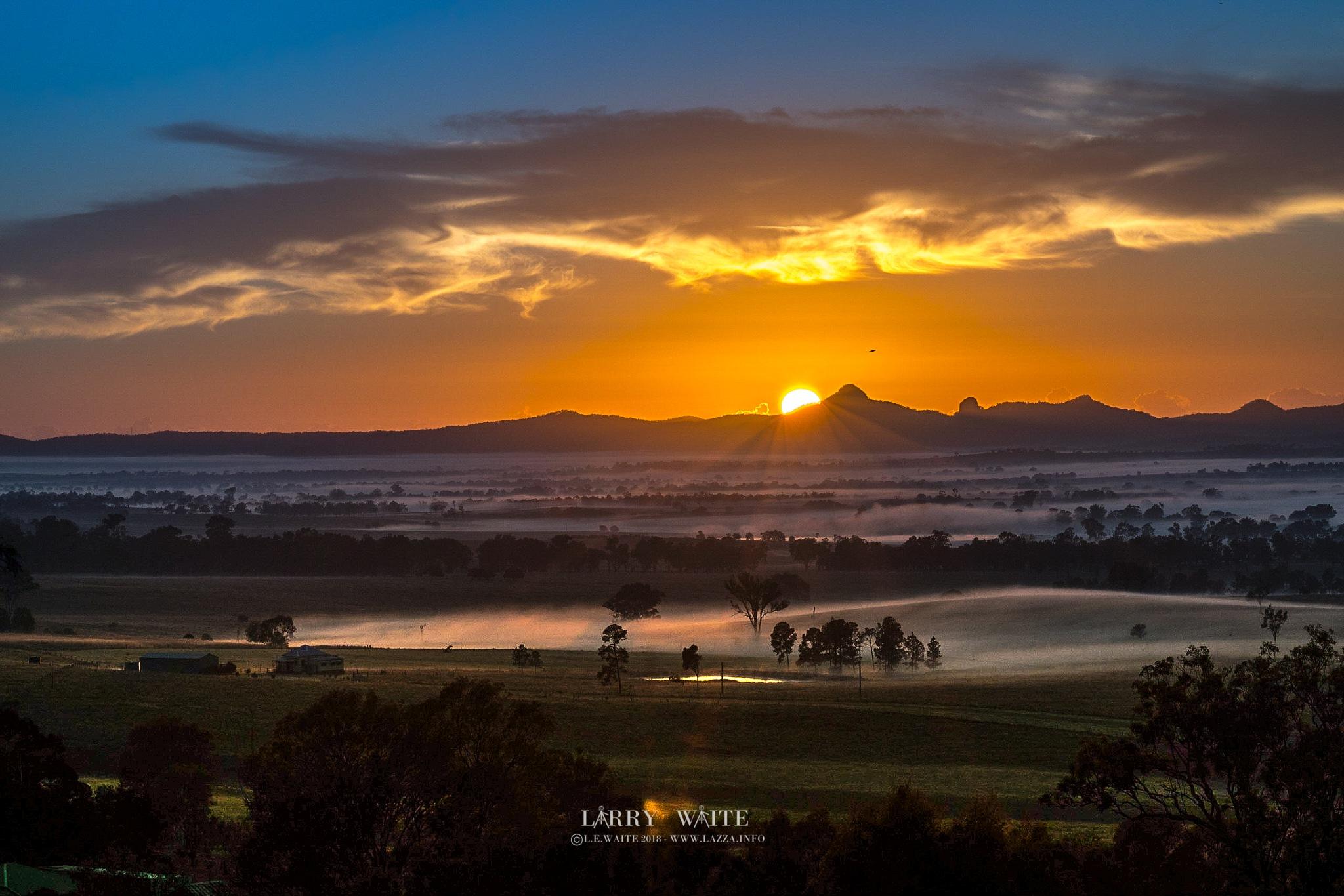 'Sunrise Sensation' by Larry Waite