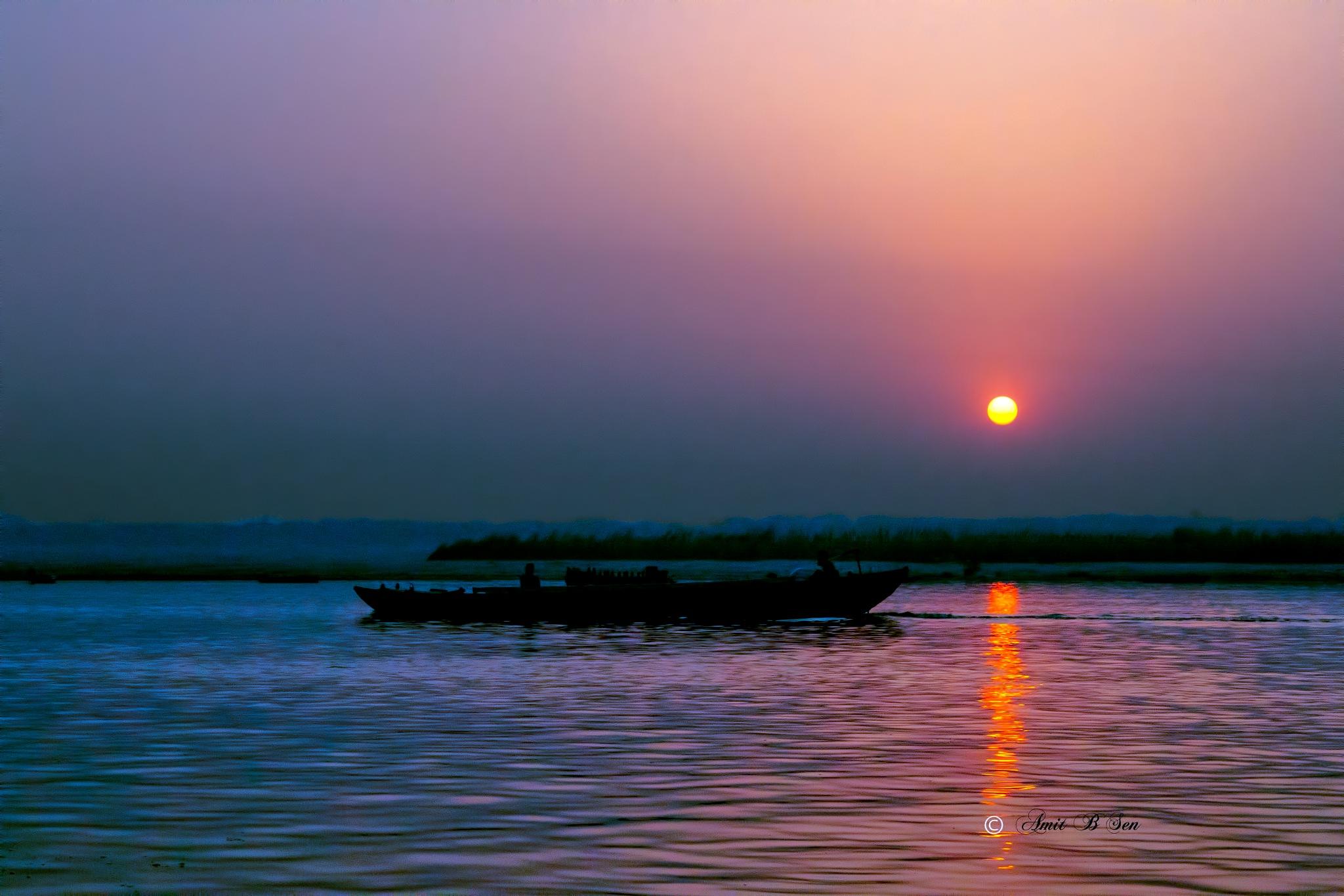 Sunrise 3 by Amit Baran Sen