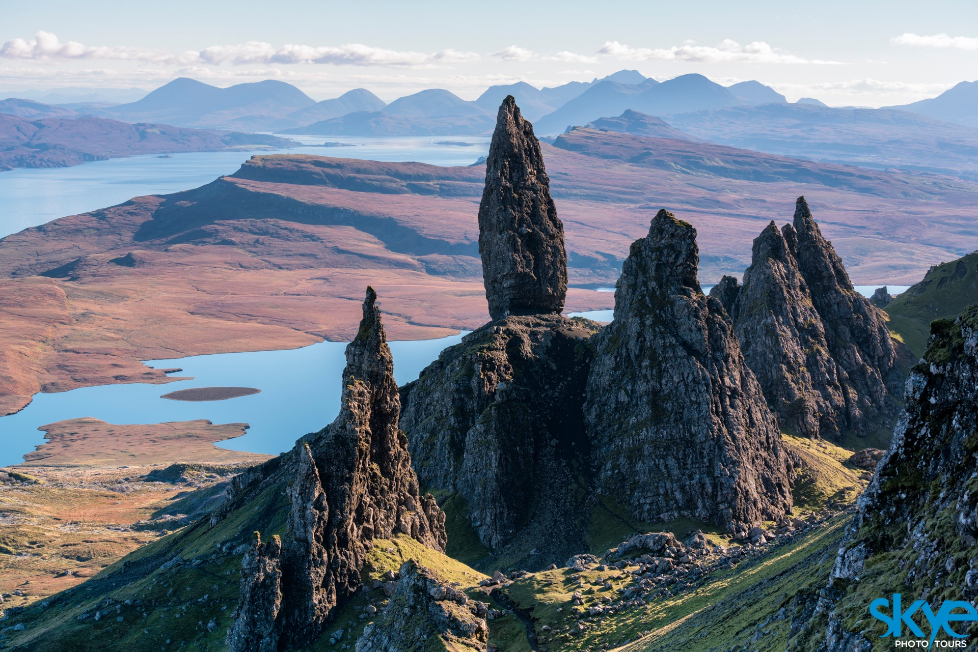 The Old Man of Storr by Gordon Charlton