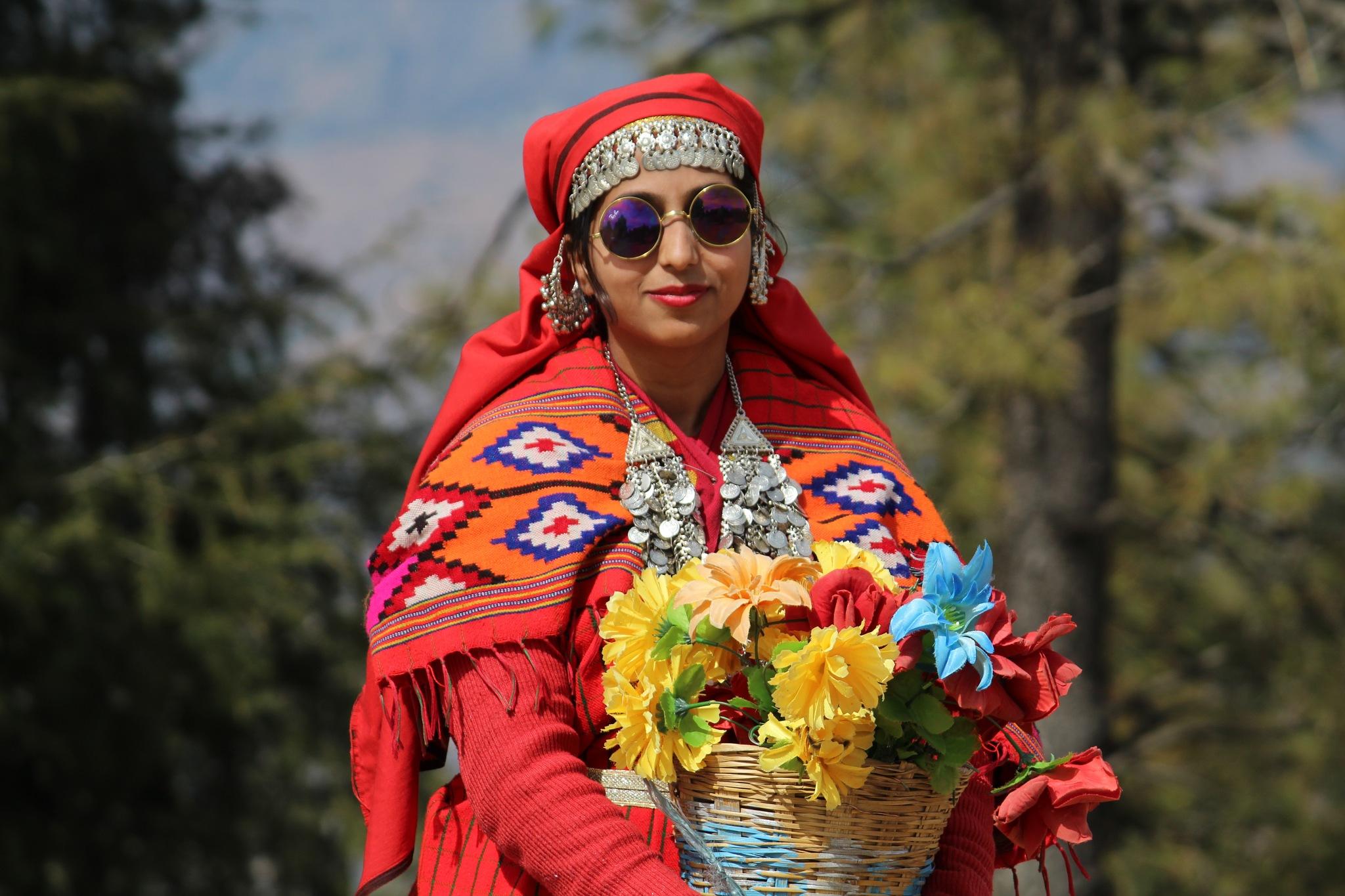 Ethnic Himachal Girl by Rishabh Dixit