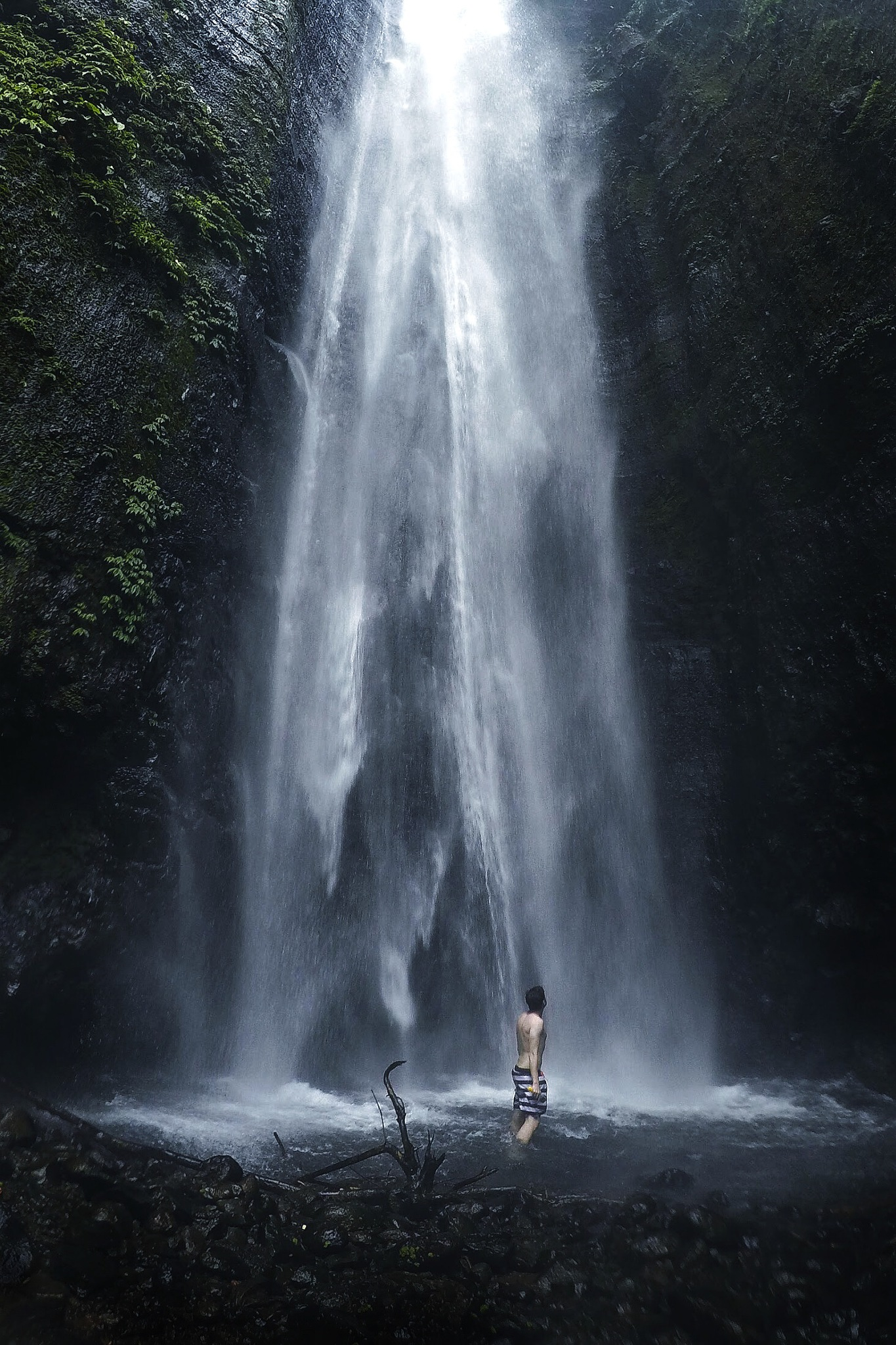 Just another Bali waterfall by Joseph Schnabel