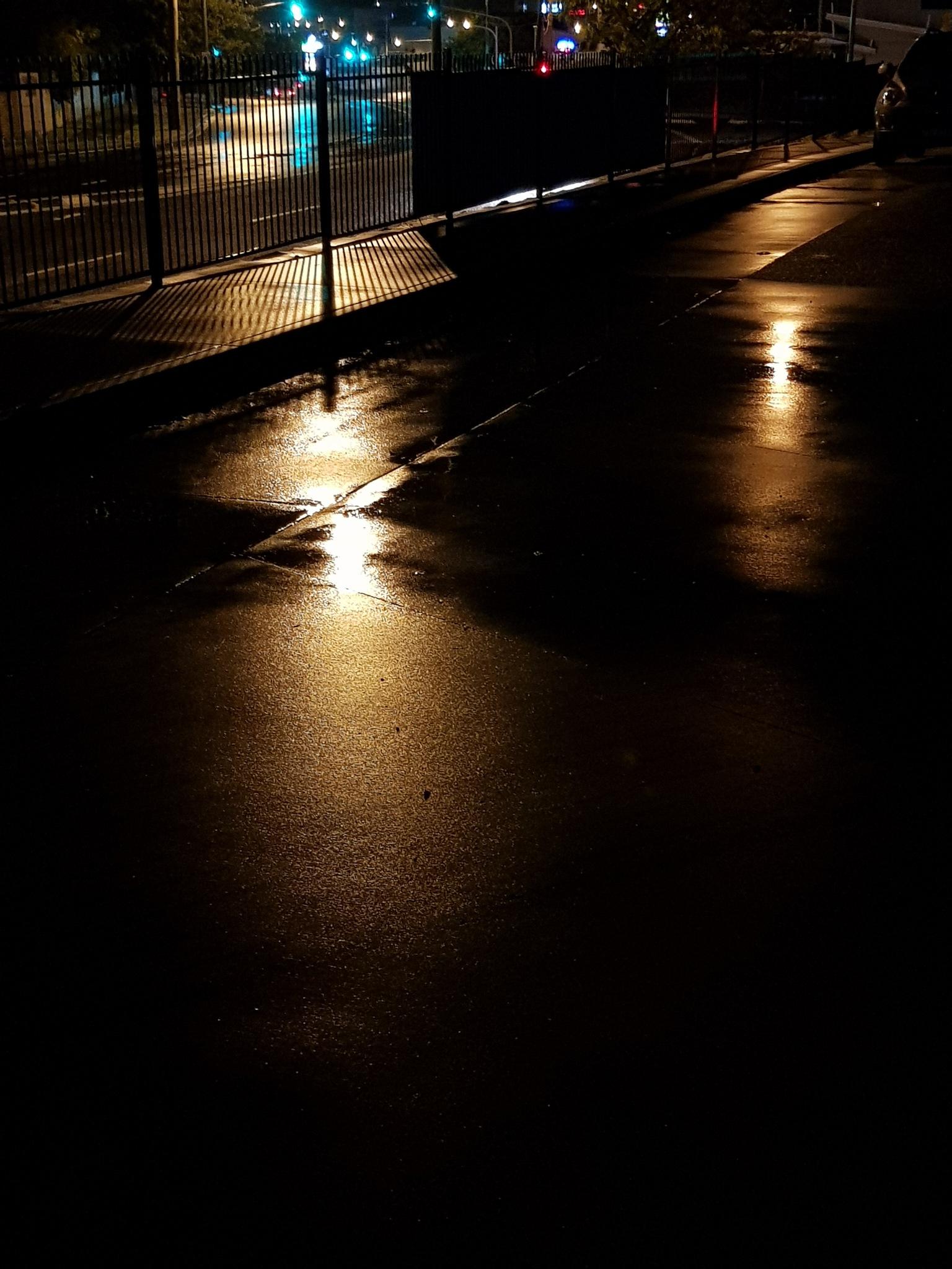 Night Rain by Edgardo Amaya