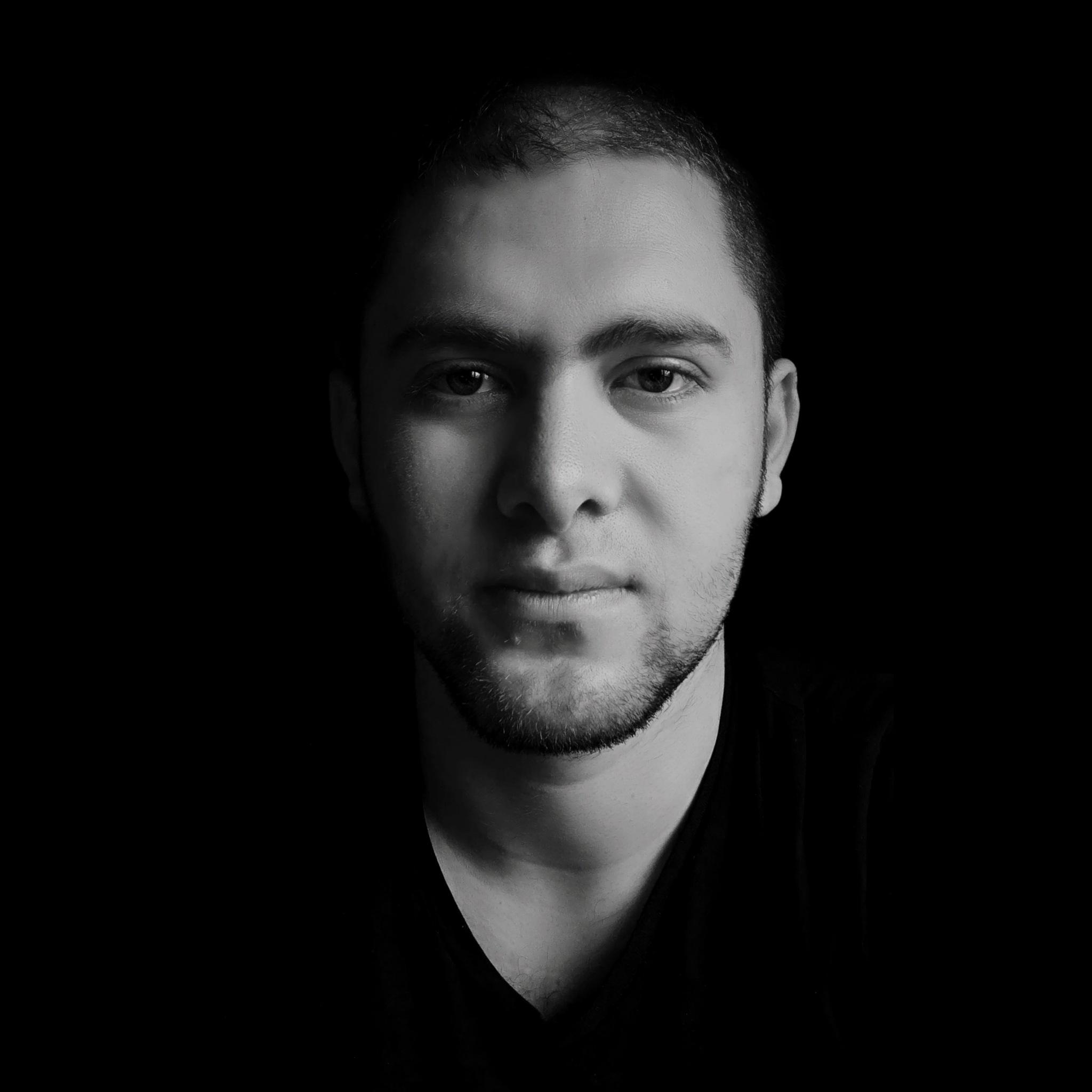 Photo in Random #portre #male #b&w #black&white #contrast #male portre