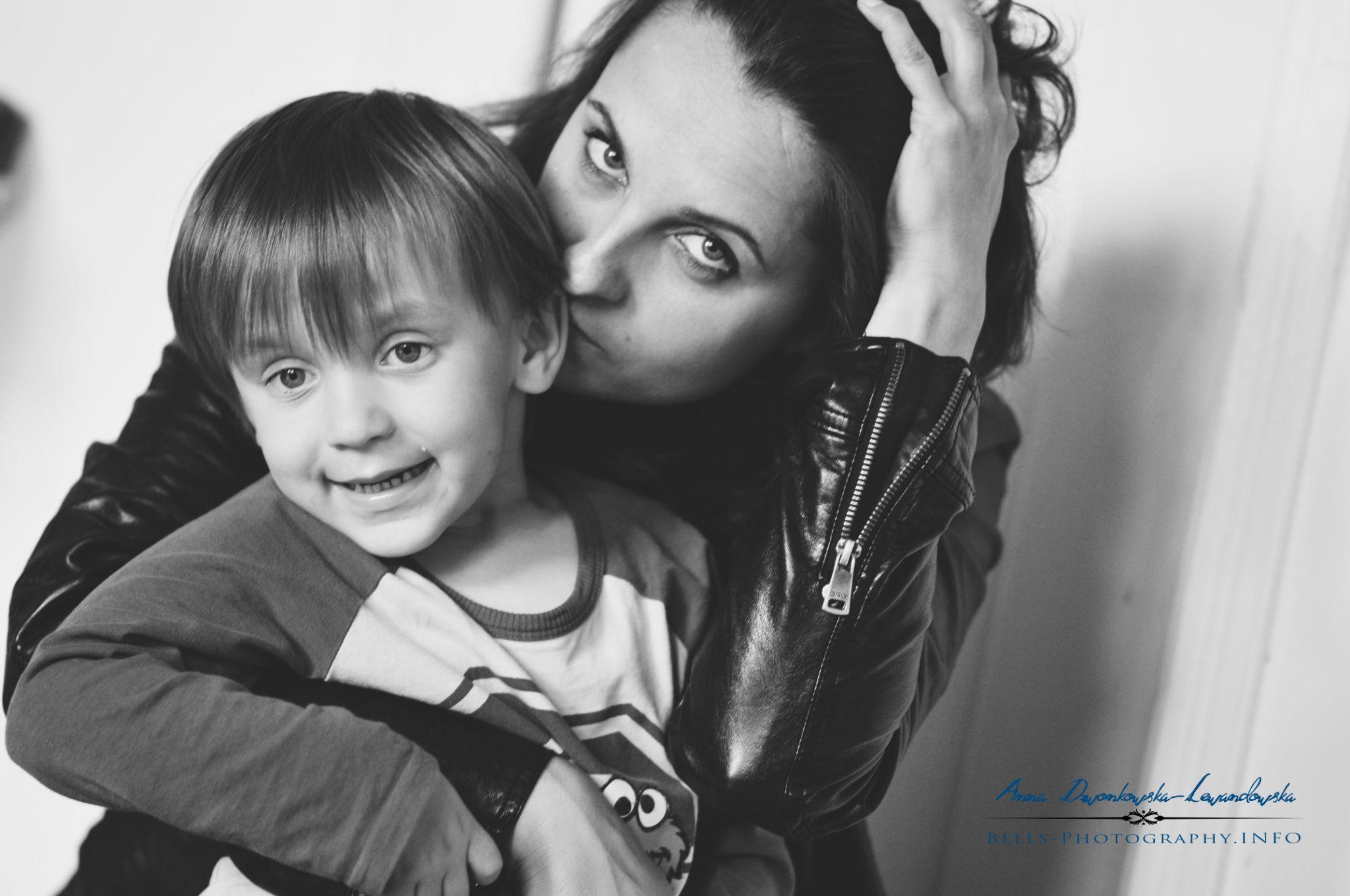 me and Wojtek - photo by my 6 years son:) by Anna Dzwonkowska-Lewandowska