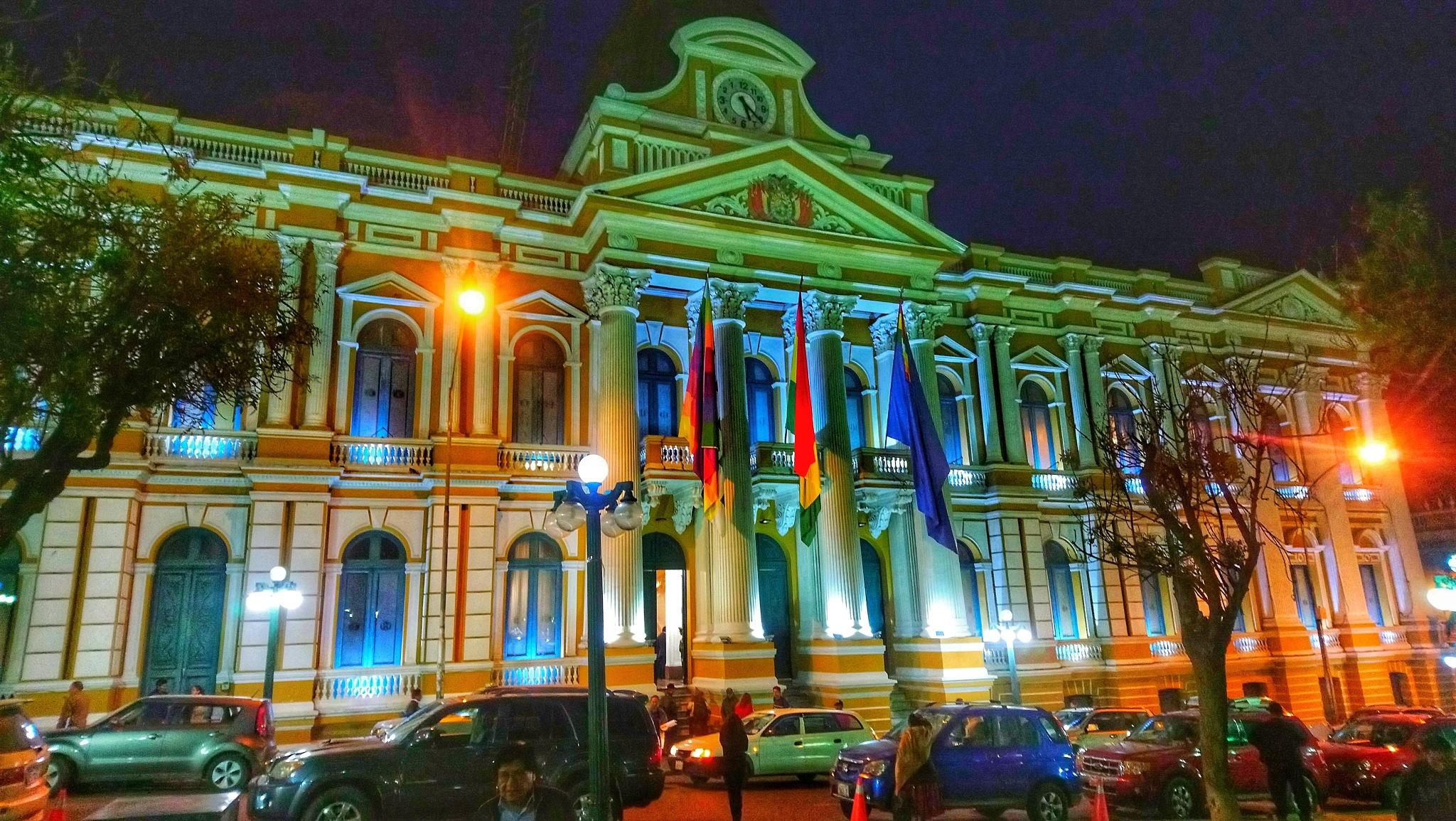 Congreso Nacional Bolivia by Victor Heredia Pineda