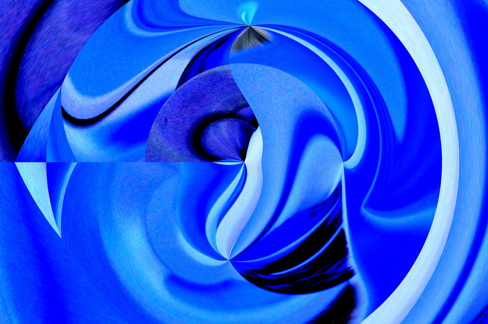 in blue by José Evaldo Suassuna de Oliveira