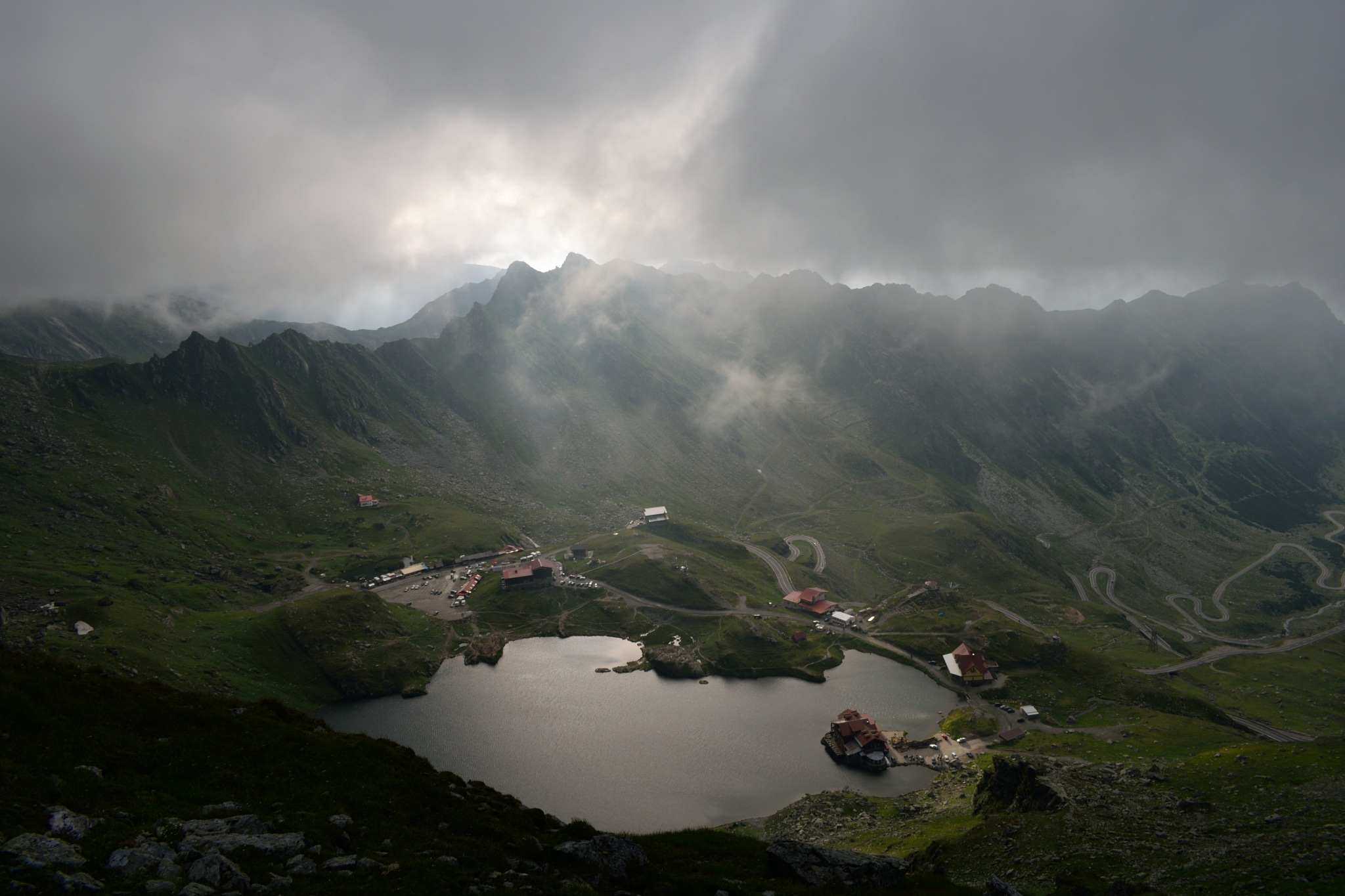Bâlea Lac by Venca Grabovský