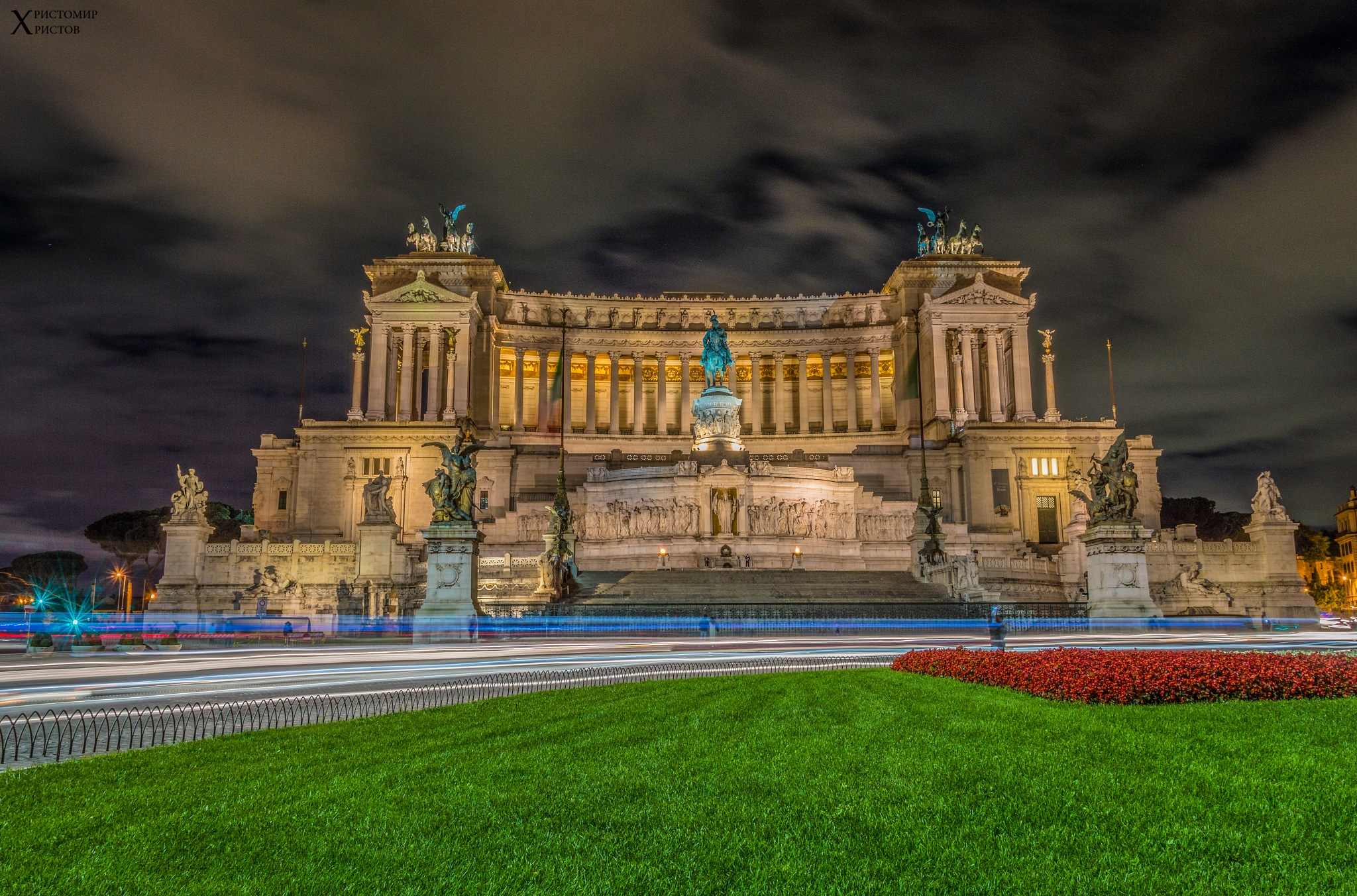 National Monument to Victor Emmanuel II part II by Hristomir Hristov