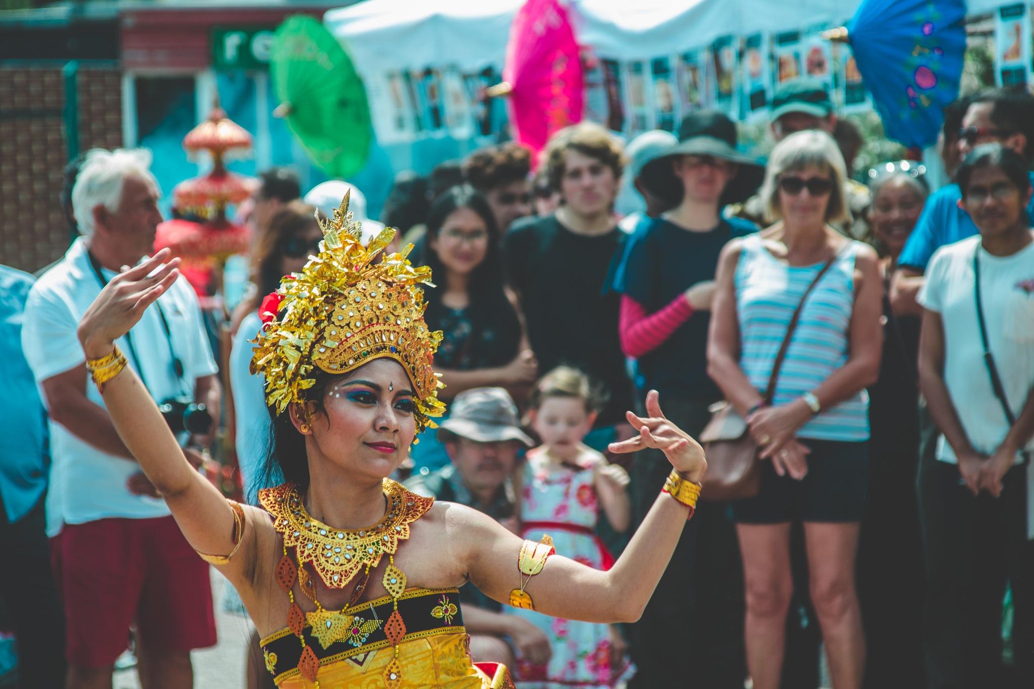 Indonesian Dancer by Jaroslaw Krokowski