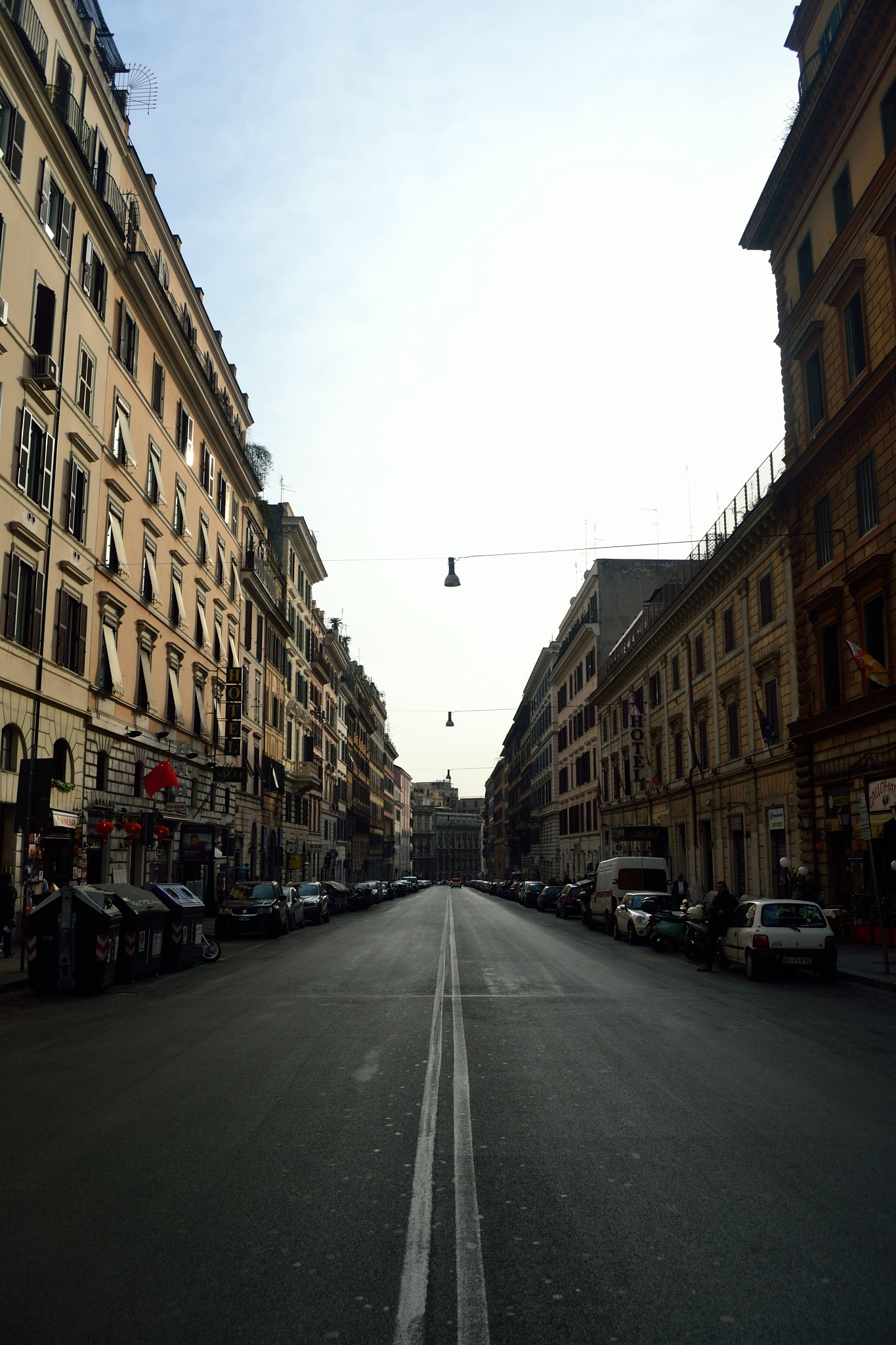 Empty Streets in Rome by Mario Hlavac