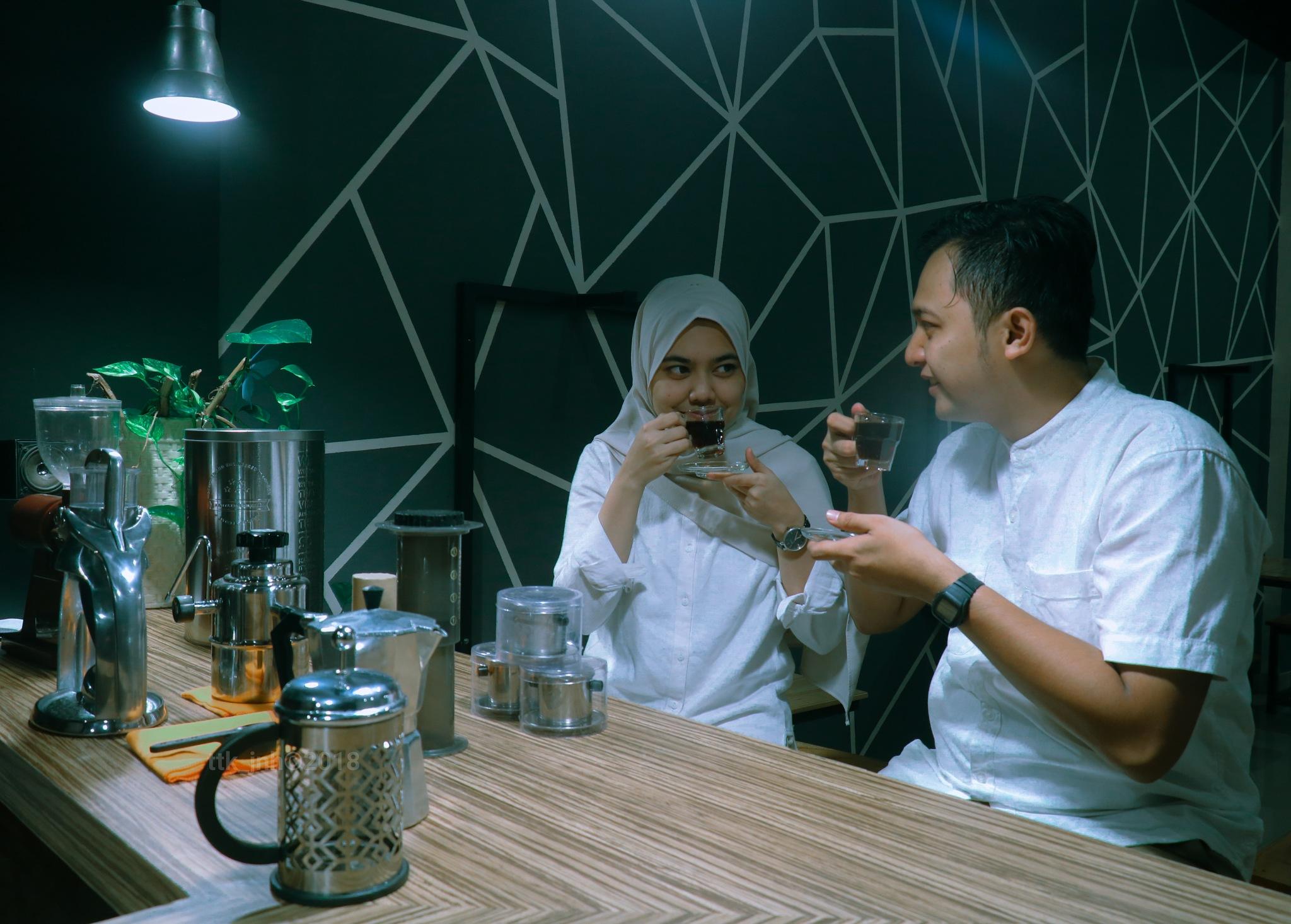 coffe for one reason by Aska Pratama