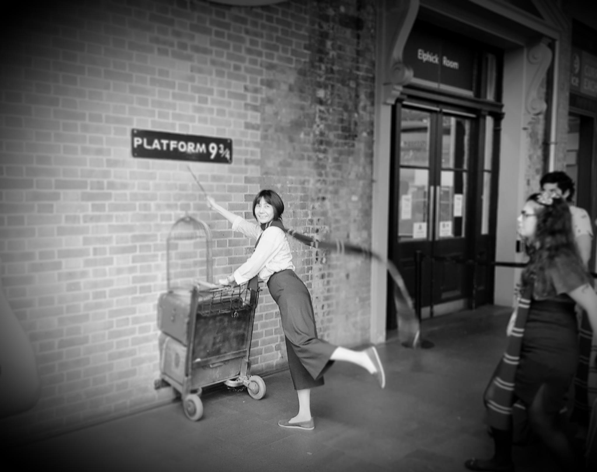 King's Cross station... by John Jack Dubajka