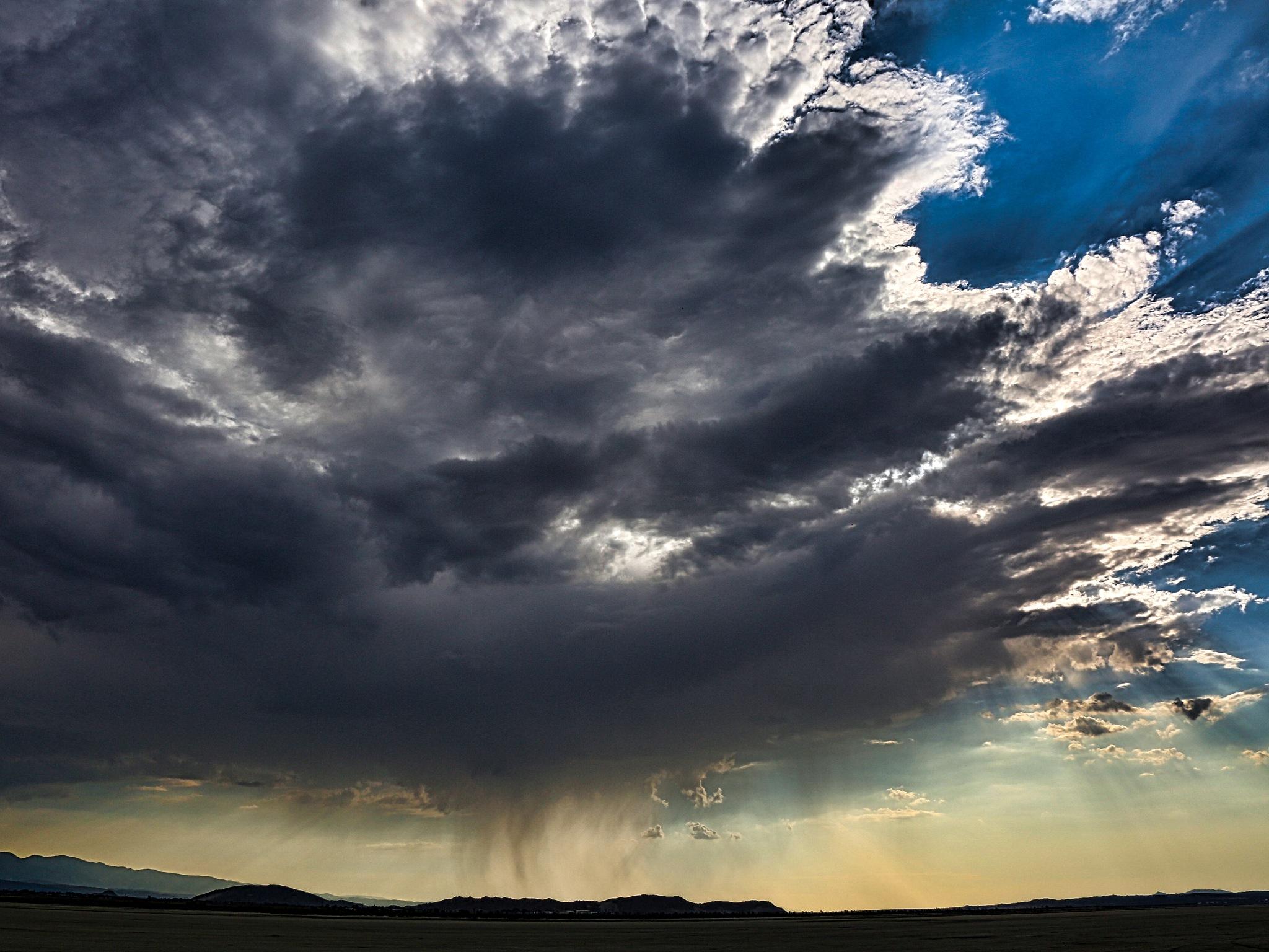 El Mirage Storm by Carson Turner
