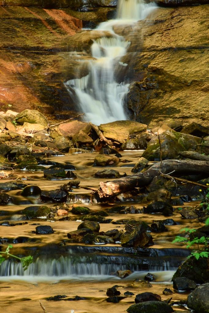 Munising Falls by Atrayee Paul