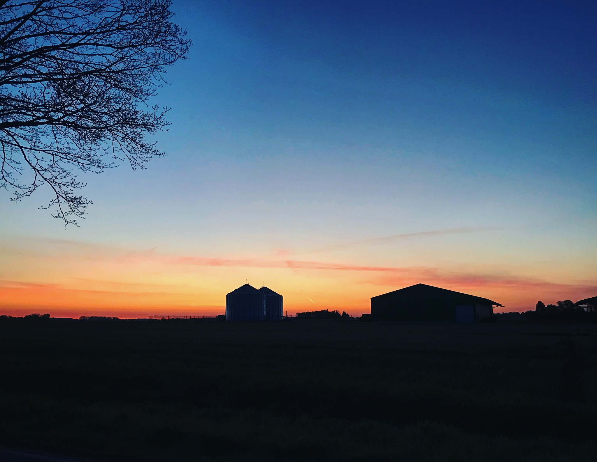 Sunrise in spring  by Timo Respondek