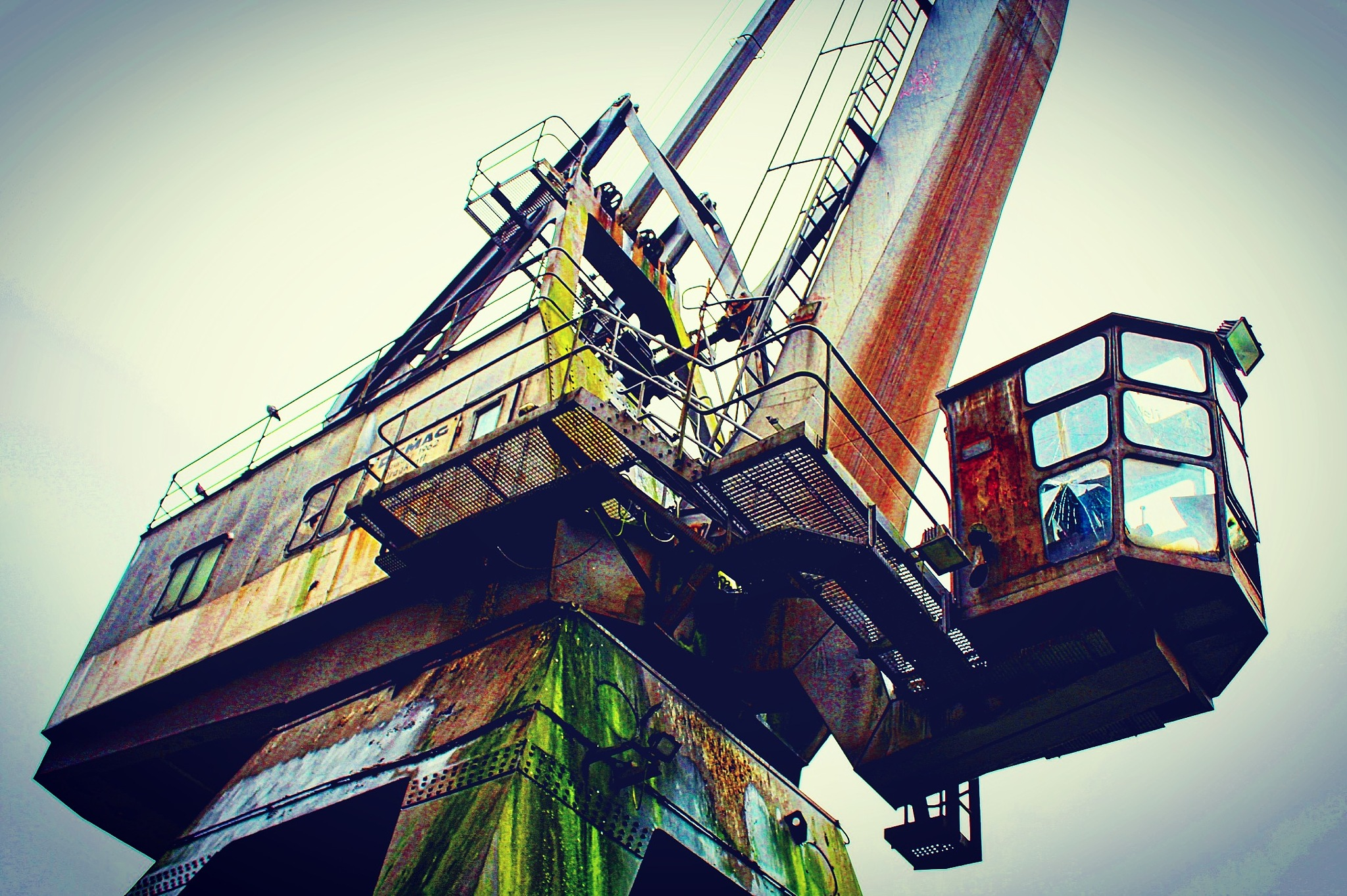 Old Crane by Timo Respondek