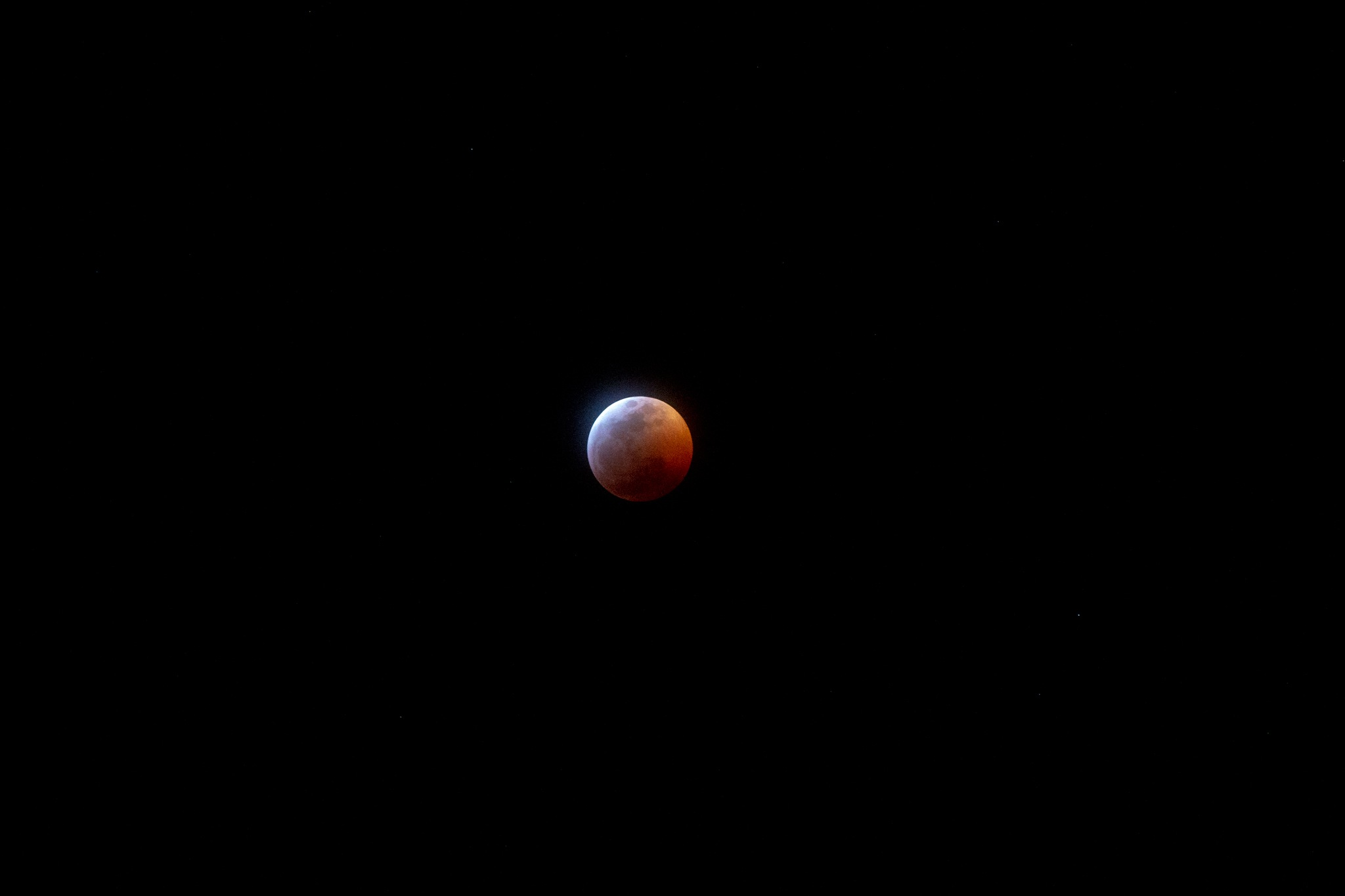 Photo in Astrophotography #moon #bloodmoon #astrophotography #lunareclipse #night #sky #red #canon #nature #2019