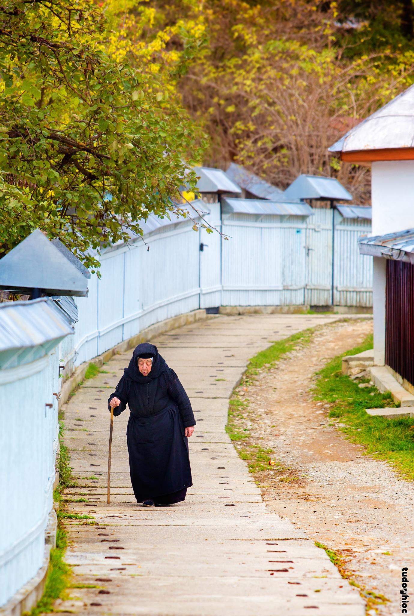 People of monastery  by tudorghioc