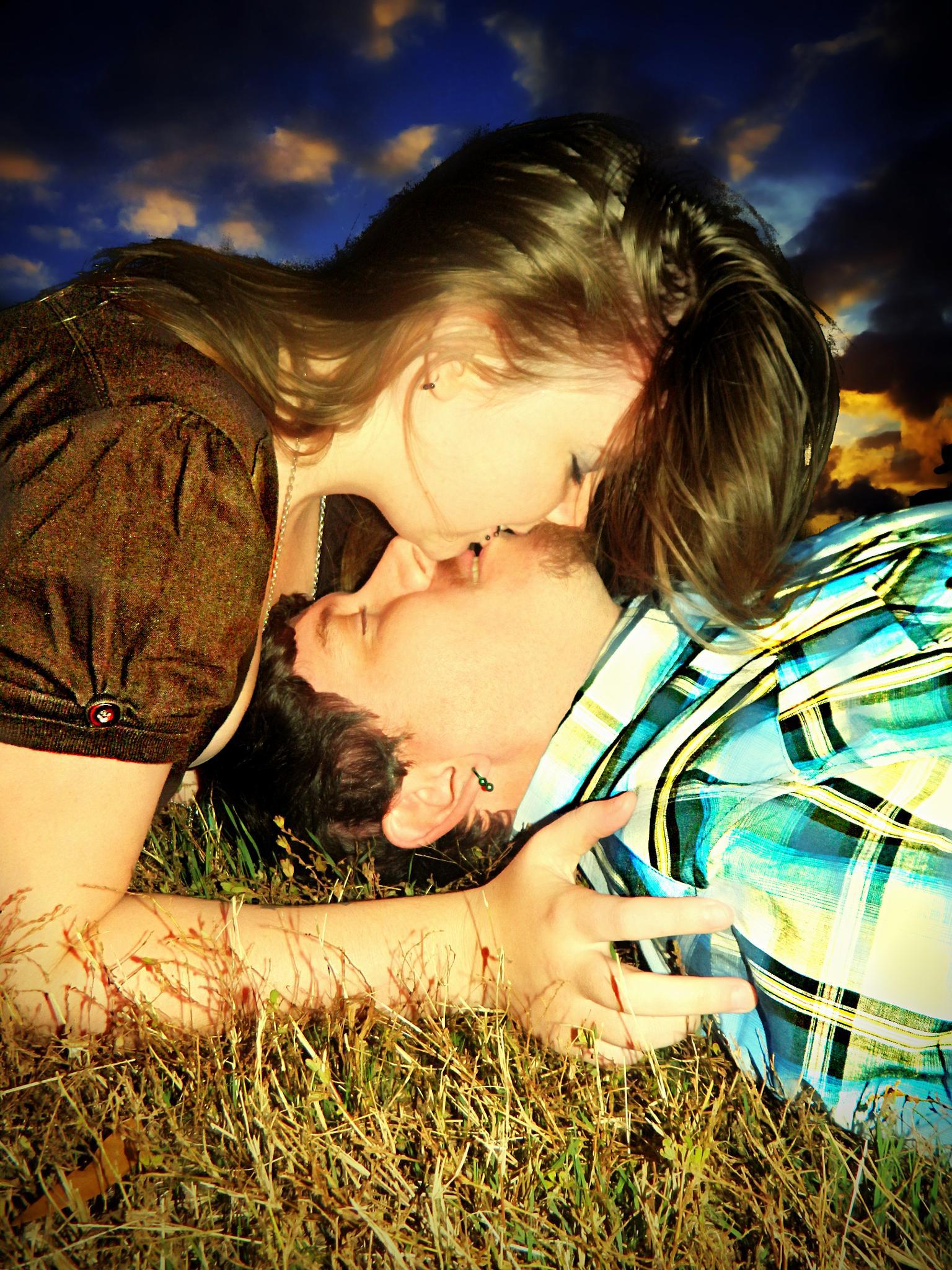 SUNSET KISS by Ashley Gray