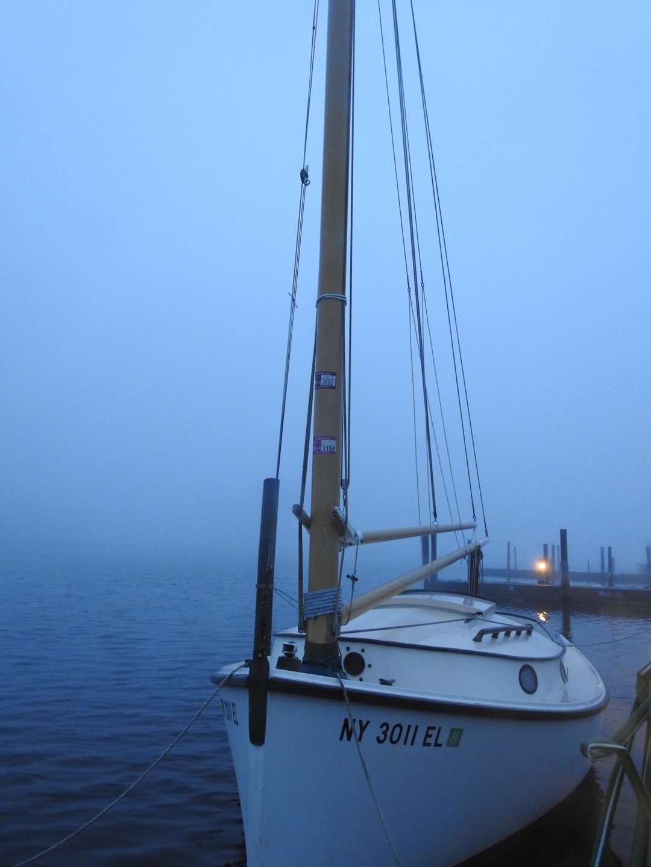Sail boat by Laurent Villard