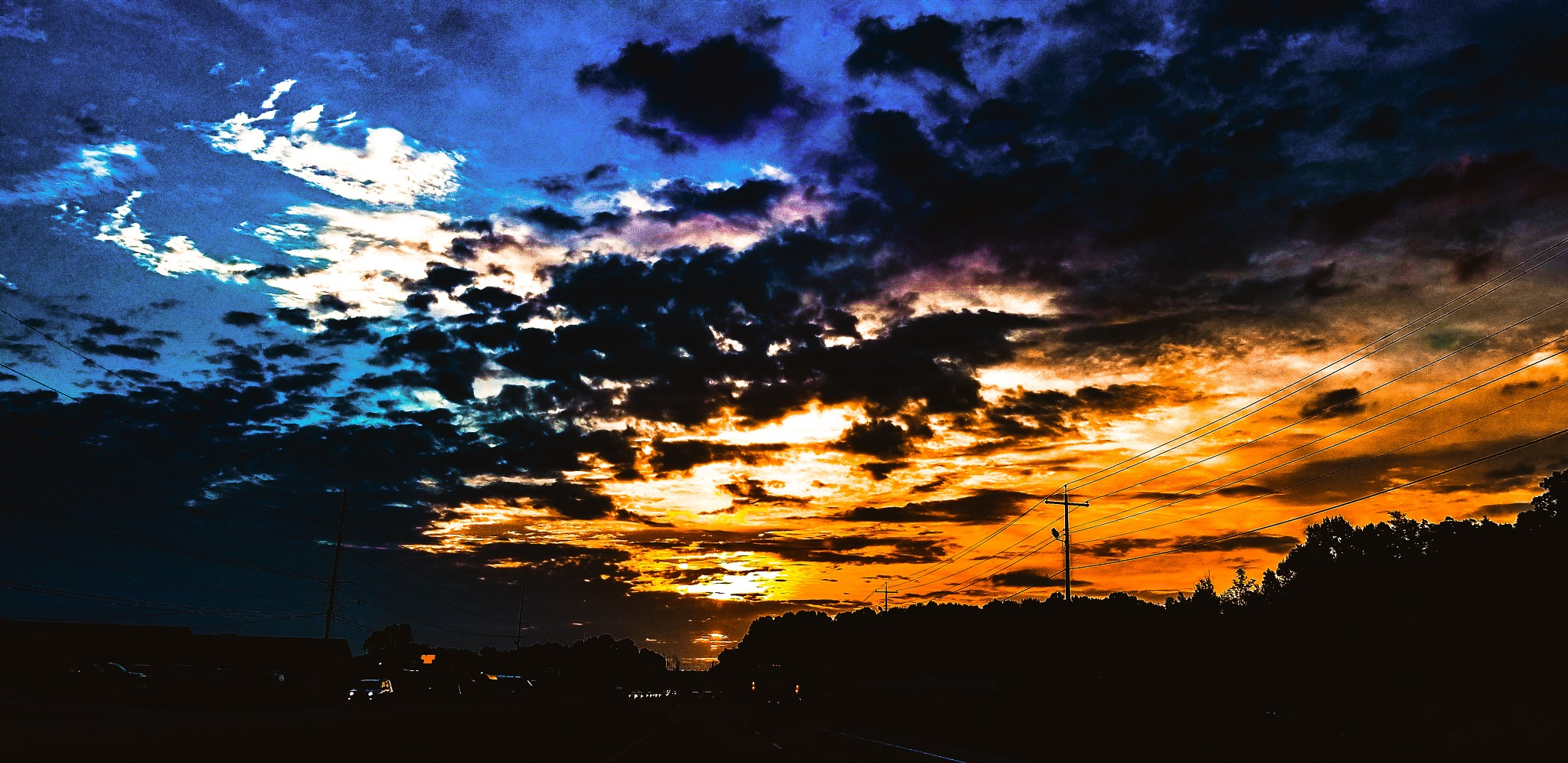 summer sky by Andrew Oaks