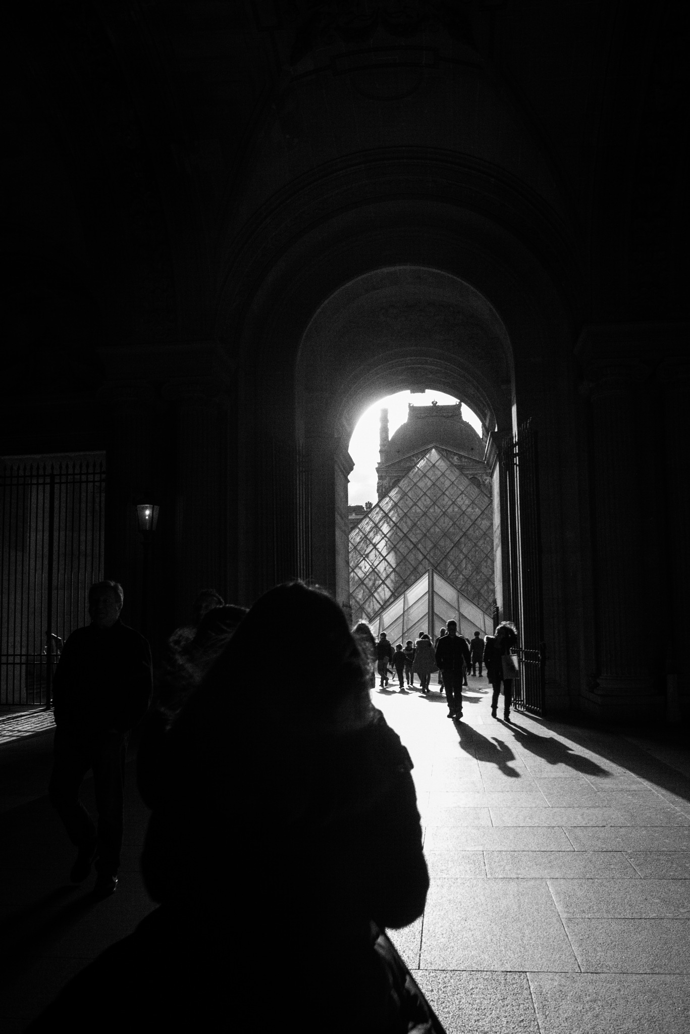 Louvre by Martina Acquistapace