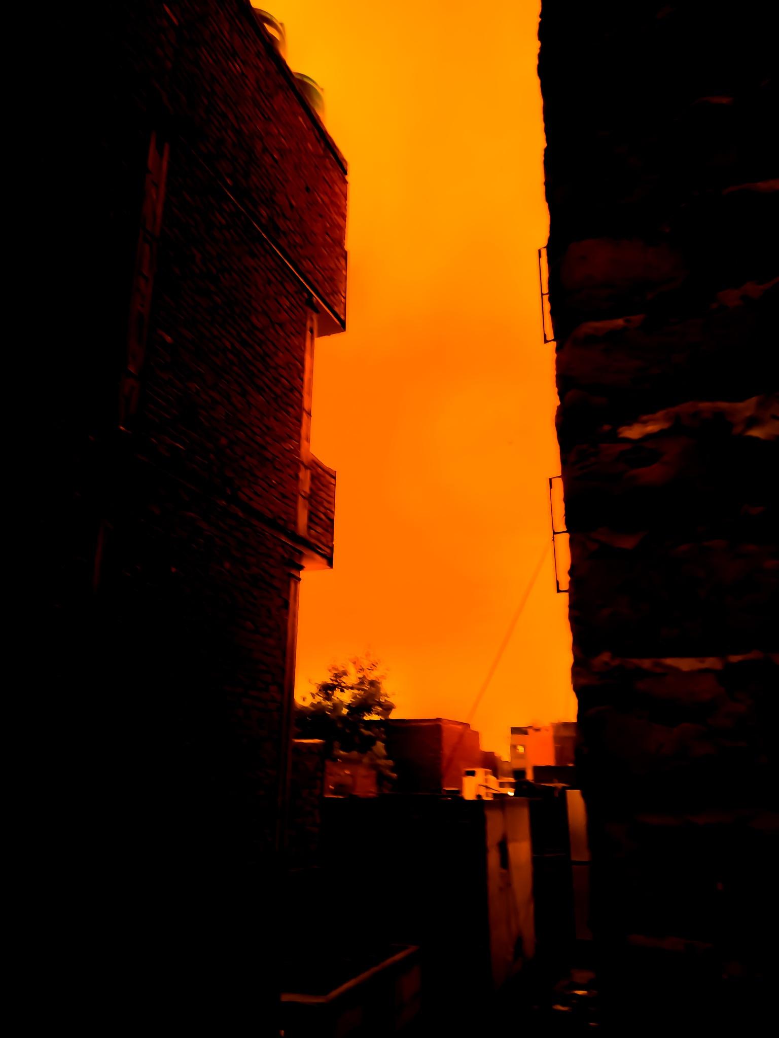 Burning Sky by Abdul Muiz