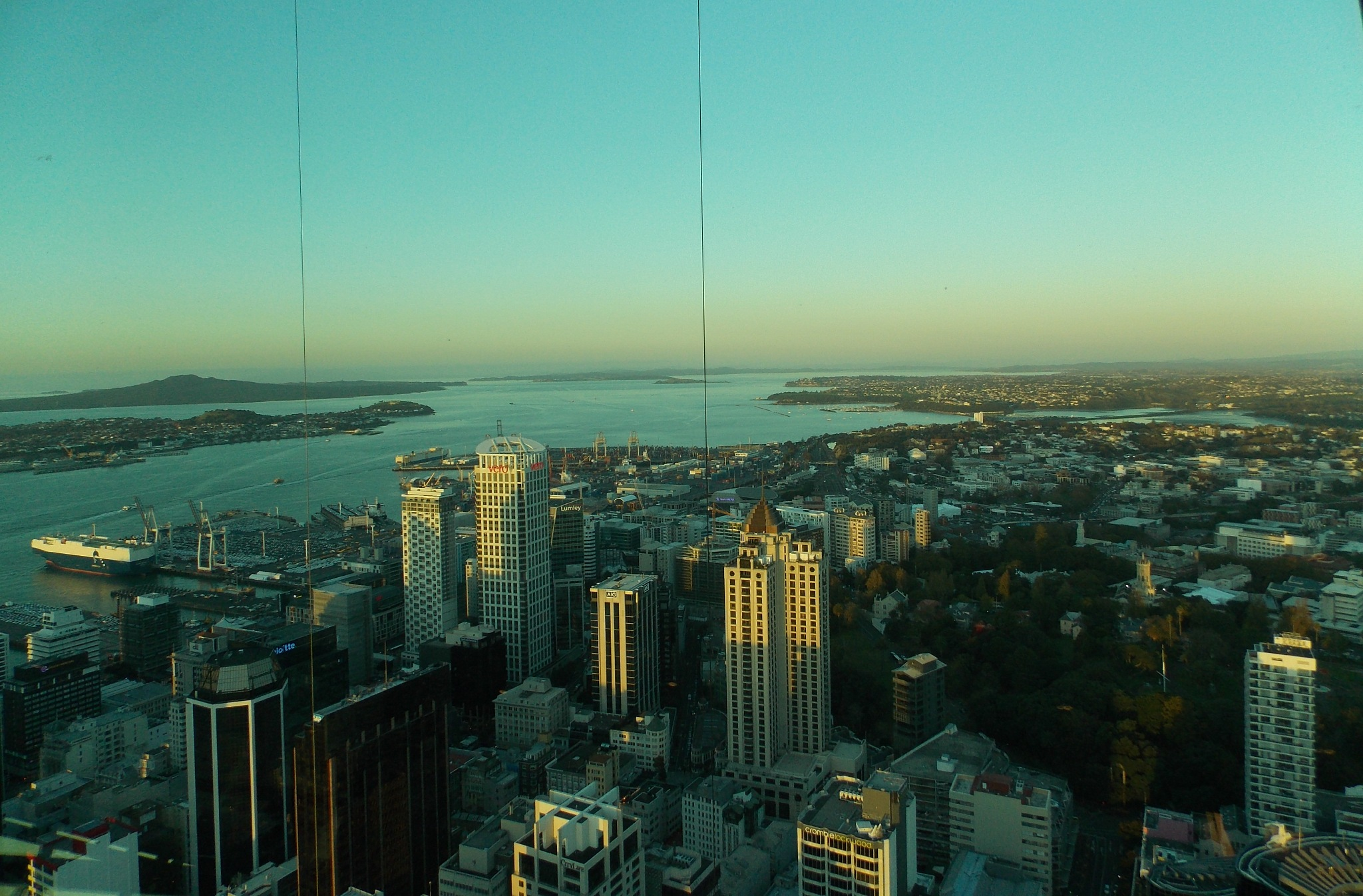 Auckland Sky Tower View  by Chanel Hall