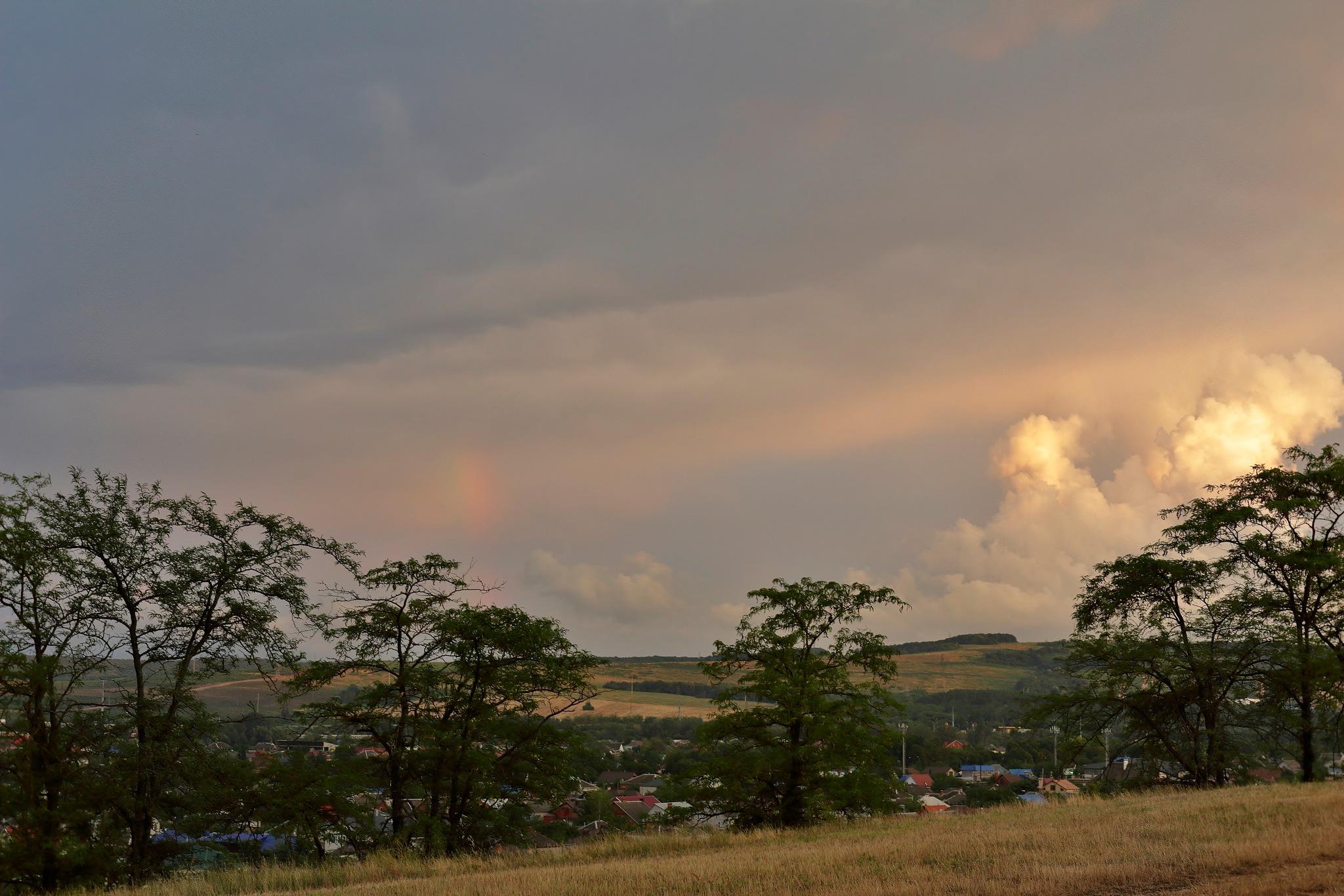Thunderstorm is coming by Konstantin Kovalevsky