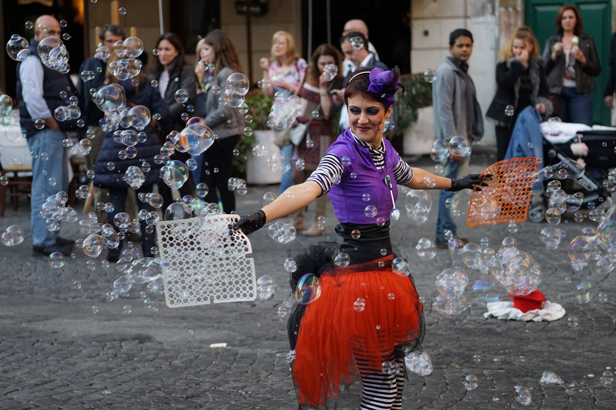 Bubbles in Roma by John Semple