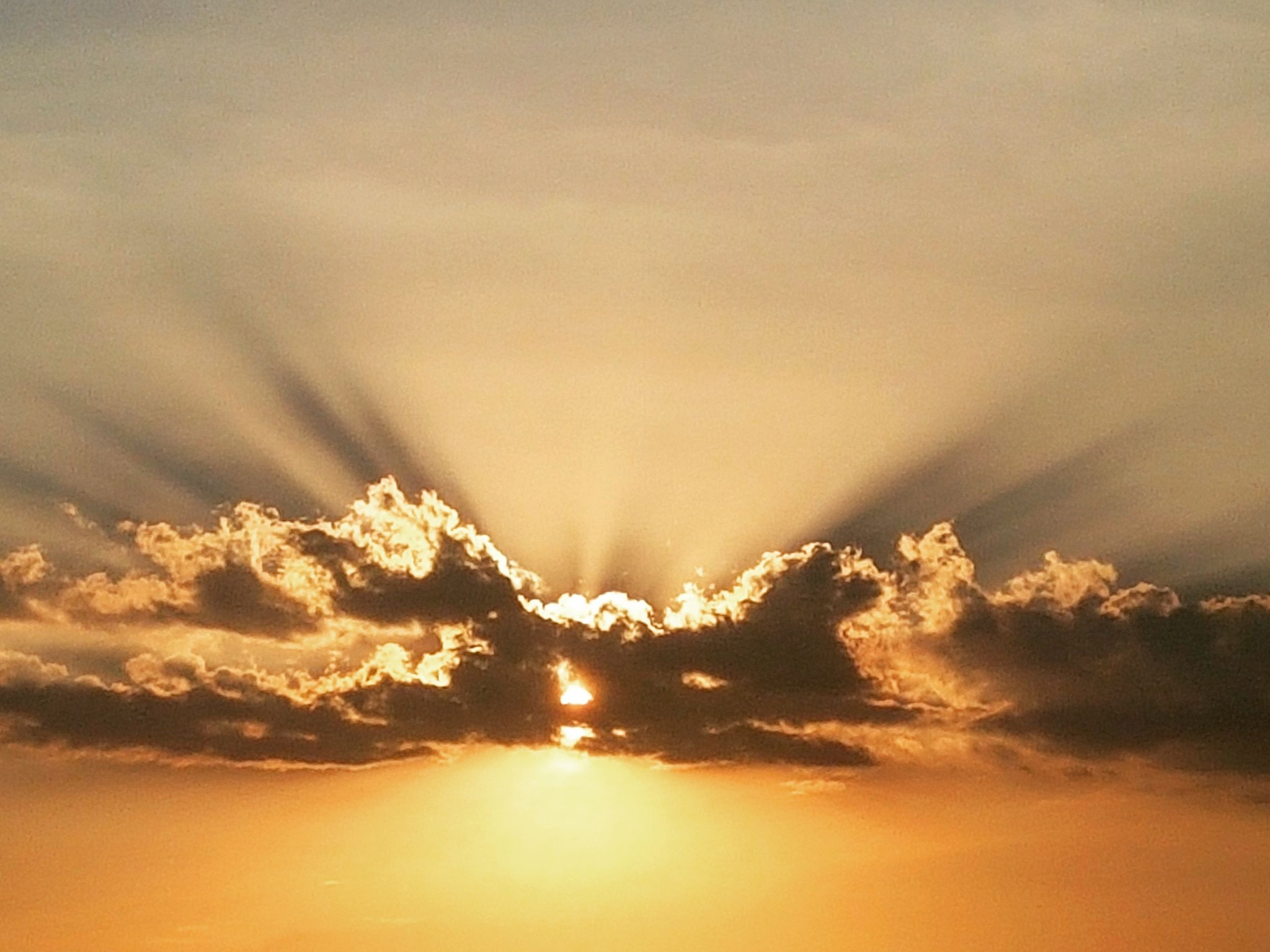 Cloud and Sun by Alan Faria
