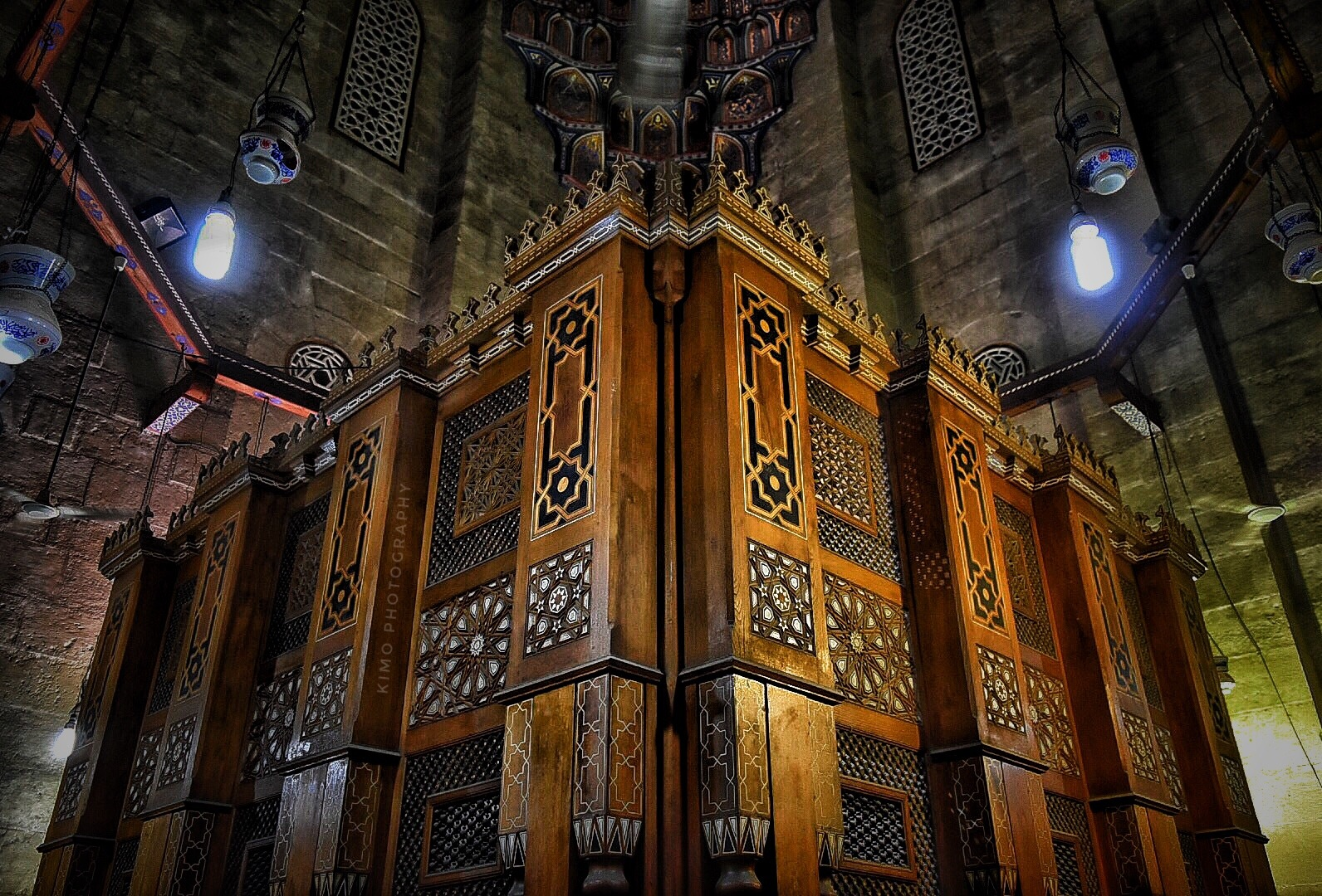 Al Rifa'i Mosque - Egypt  by Ahmed Kamal