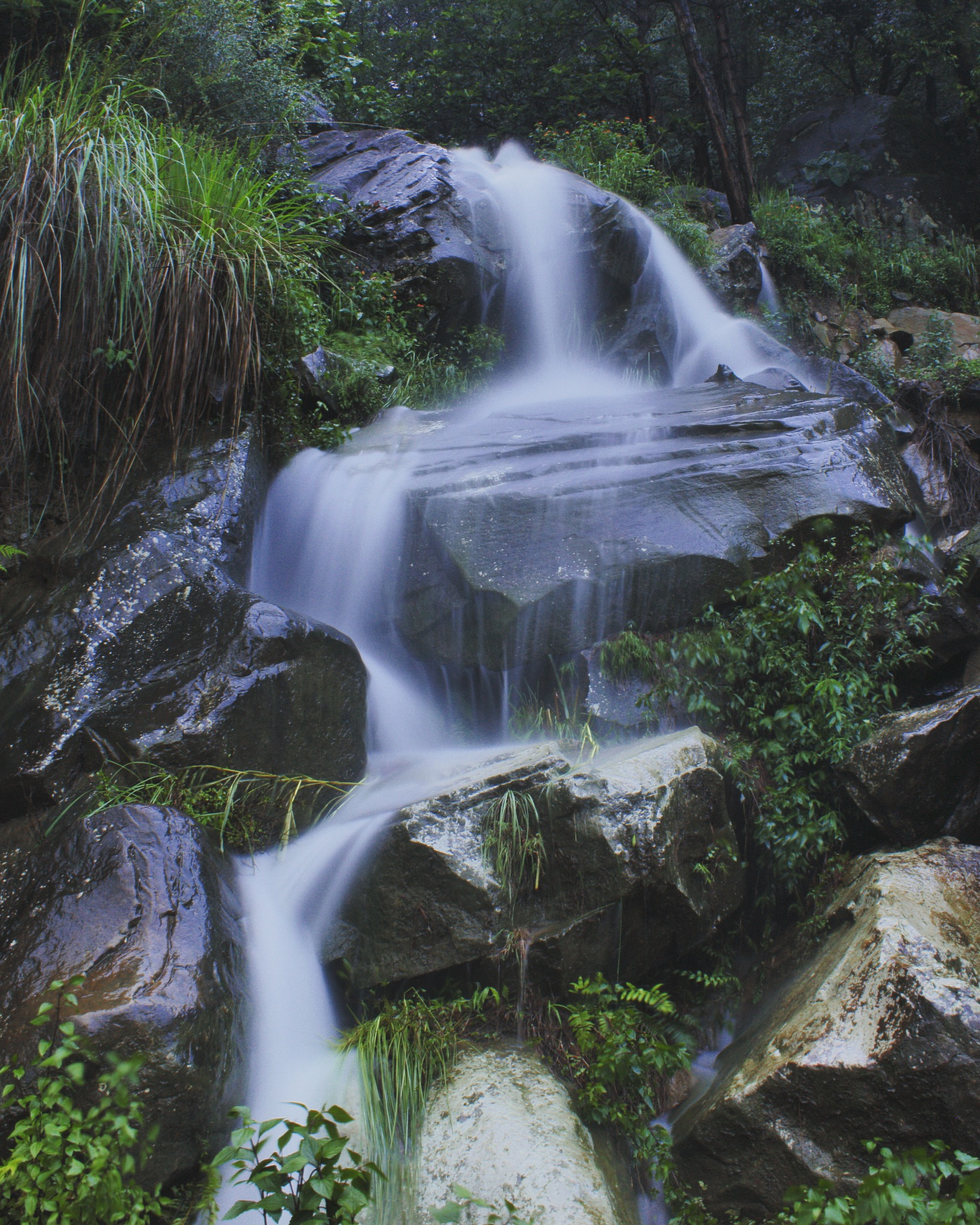 Waterfall by Superv Thakur