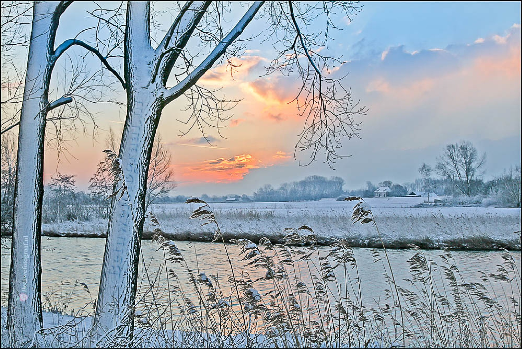 Winterwonderland in Holland............8 by Betuwefotograaf