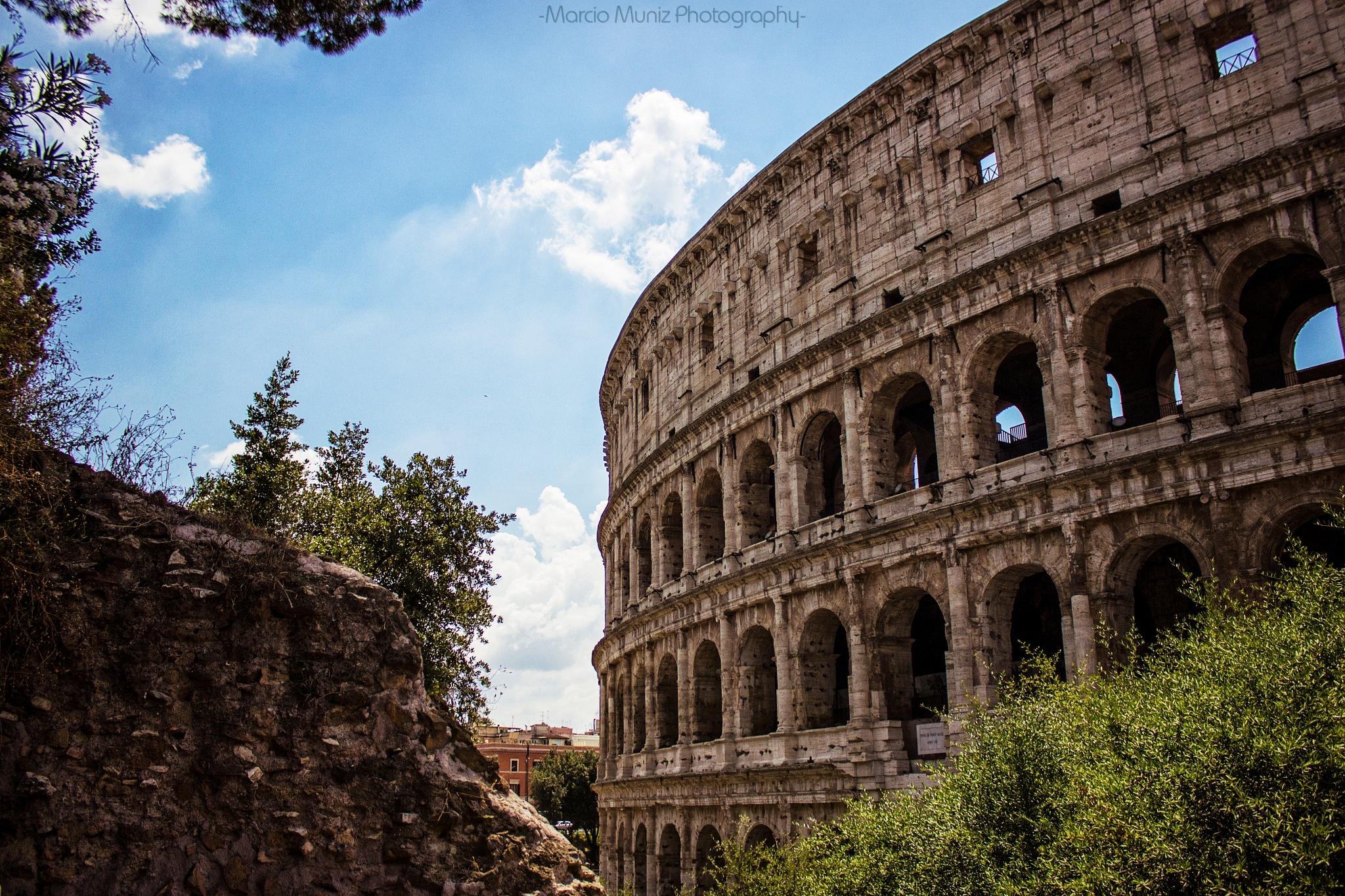 Colosseum by Marcio Muniz