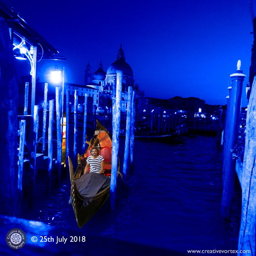 The Smiling Gondolier by Creative Vortex Photography