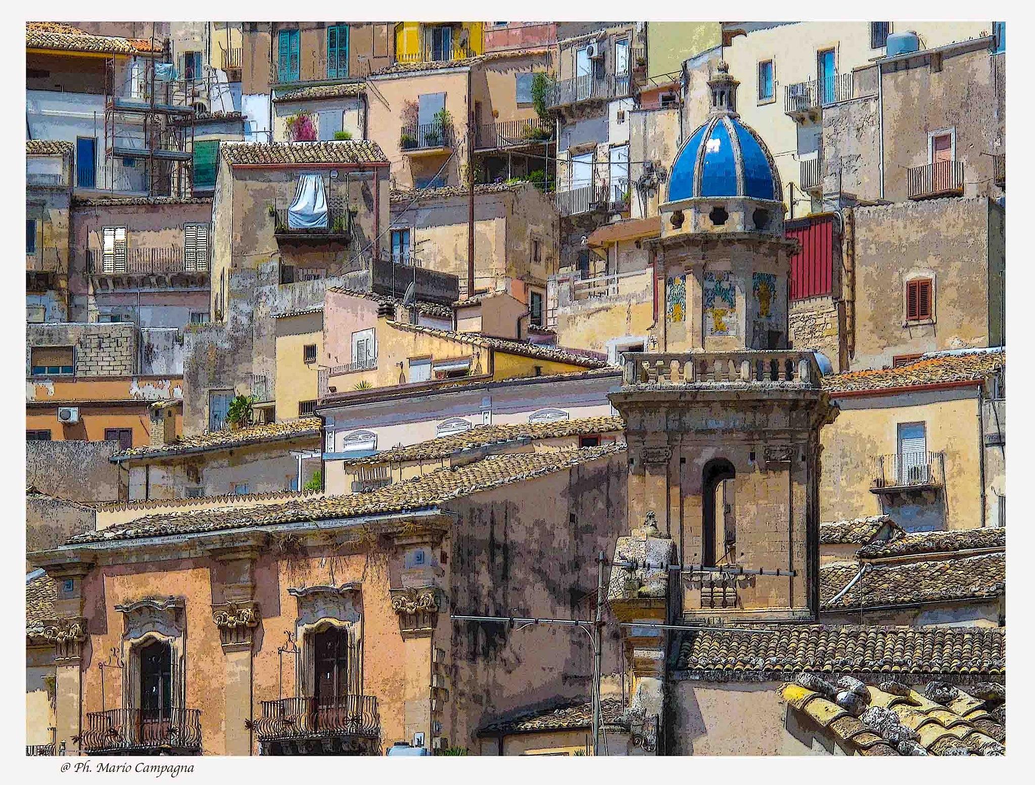 Ragusa Ibla - Sicily by mario campagna