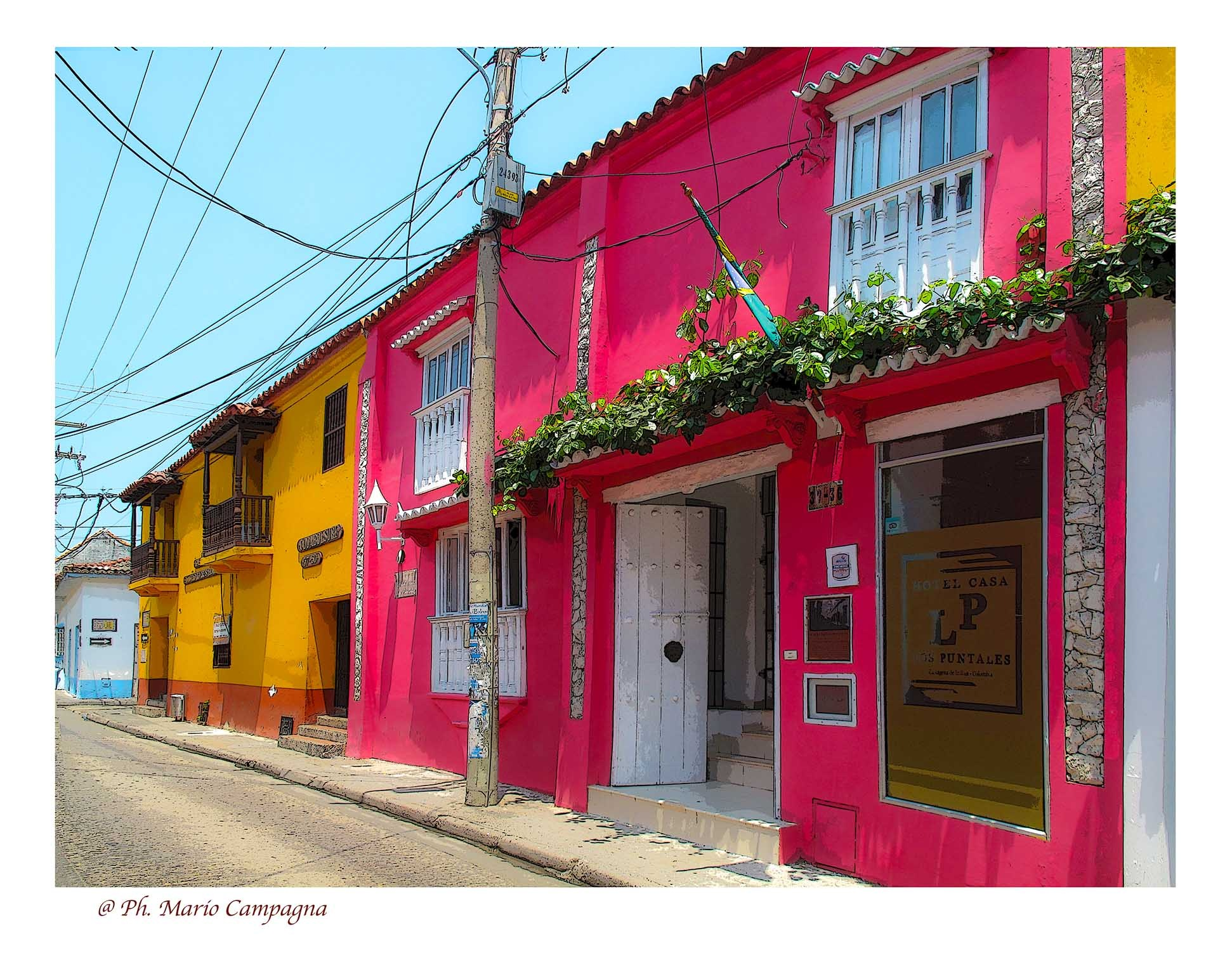 Colori a Cartagena de Indias (Colombia) by mario campagna