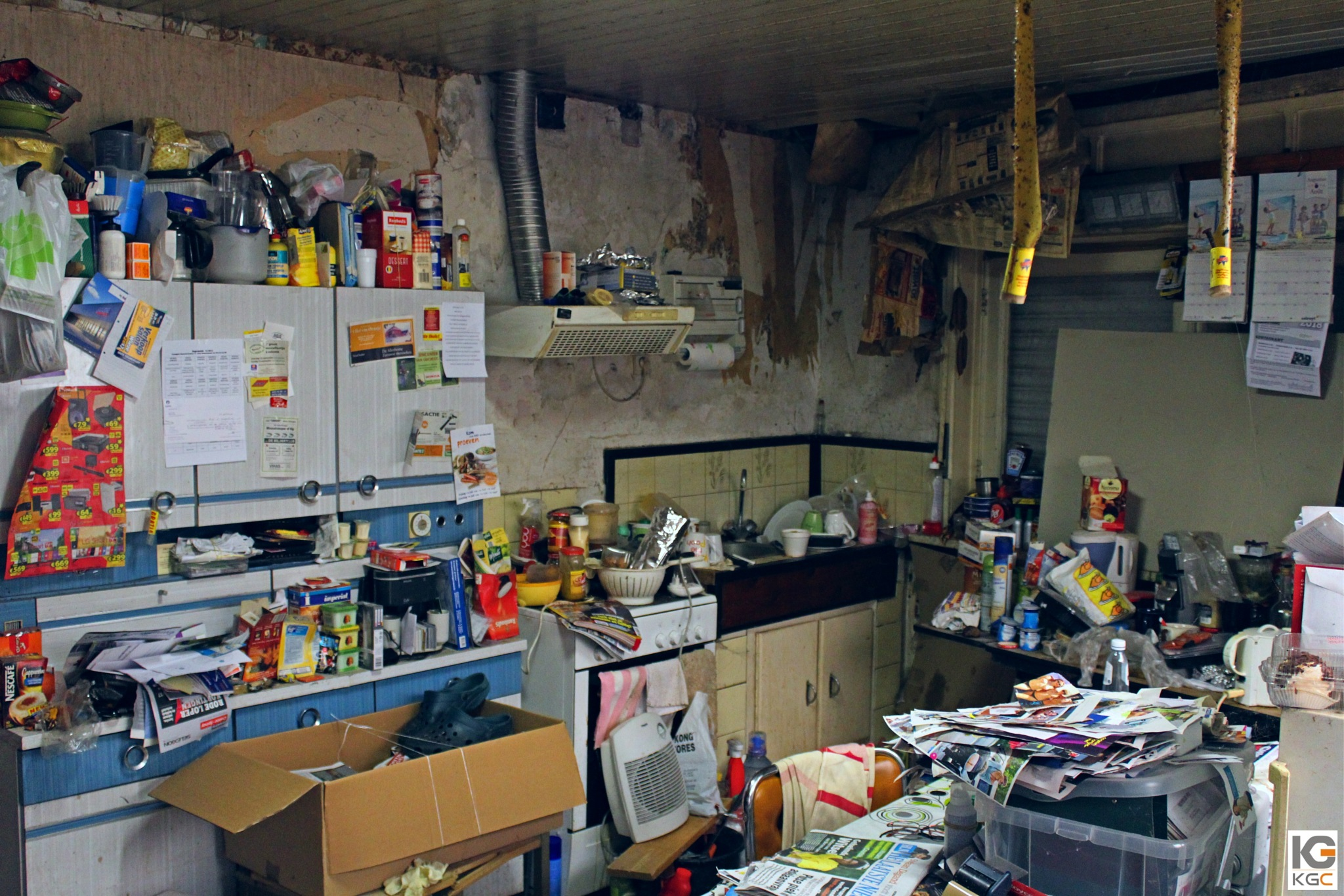 Kitchen nightmare by Karel Geerts