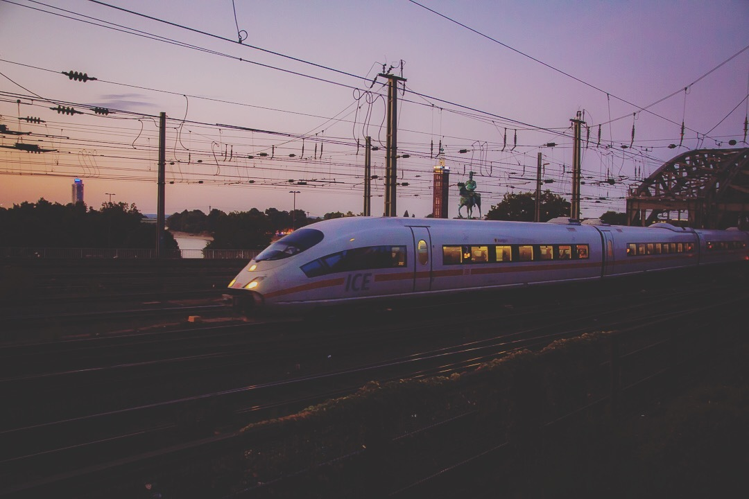 The Intercity Express by Brendel.Photography