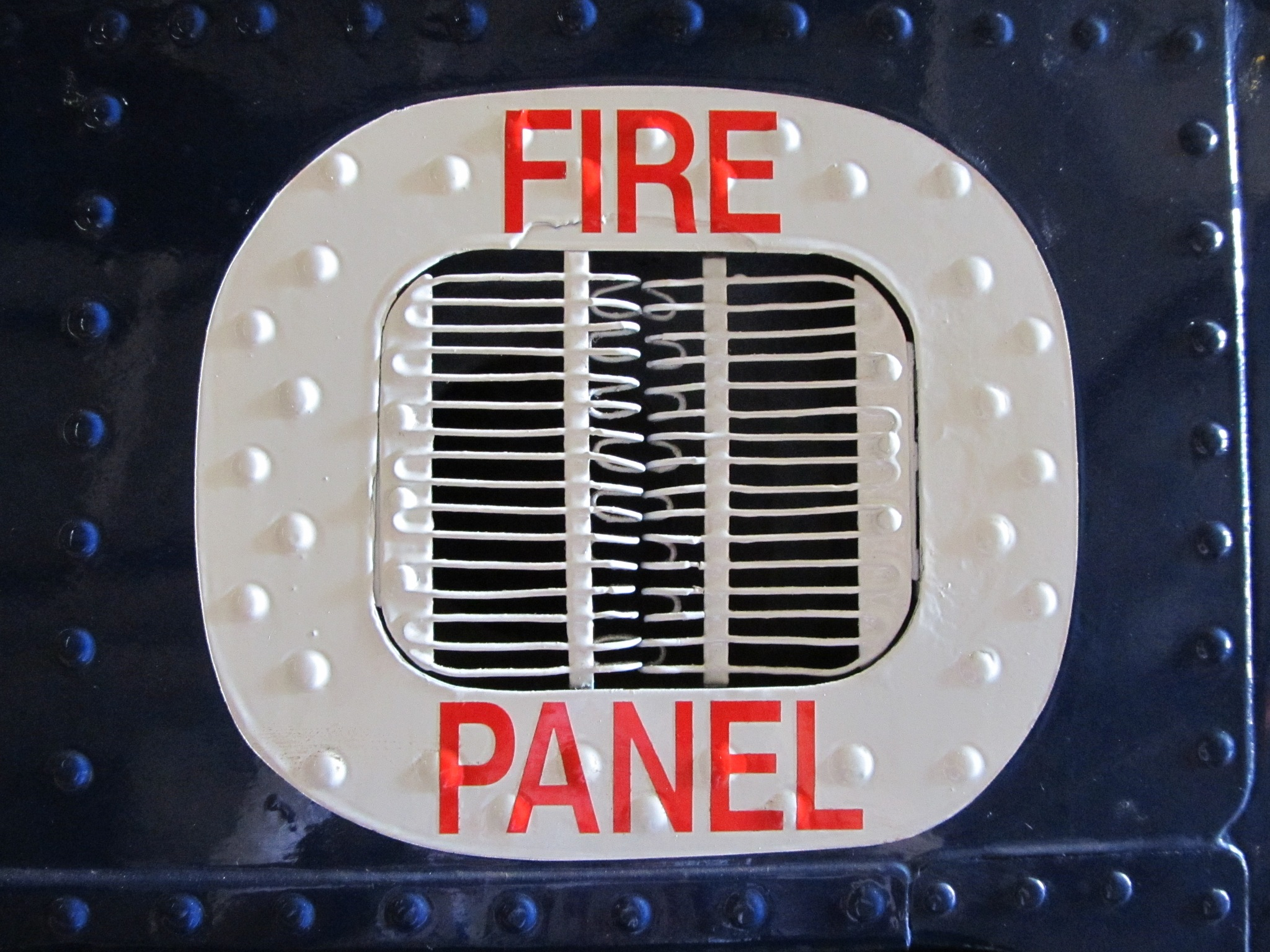 Fire Panel by Craig Wish