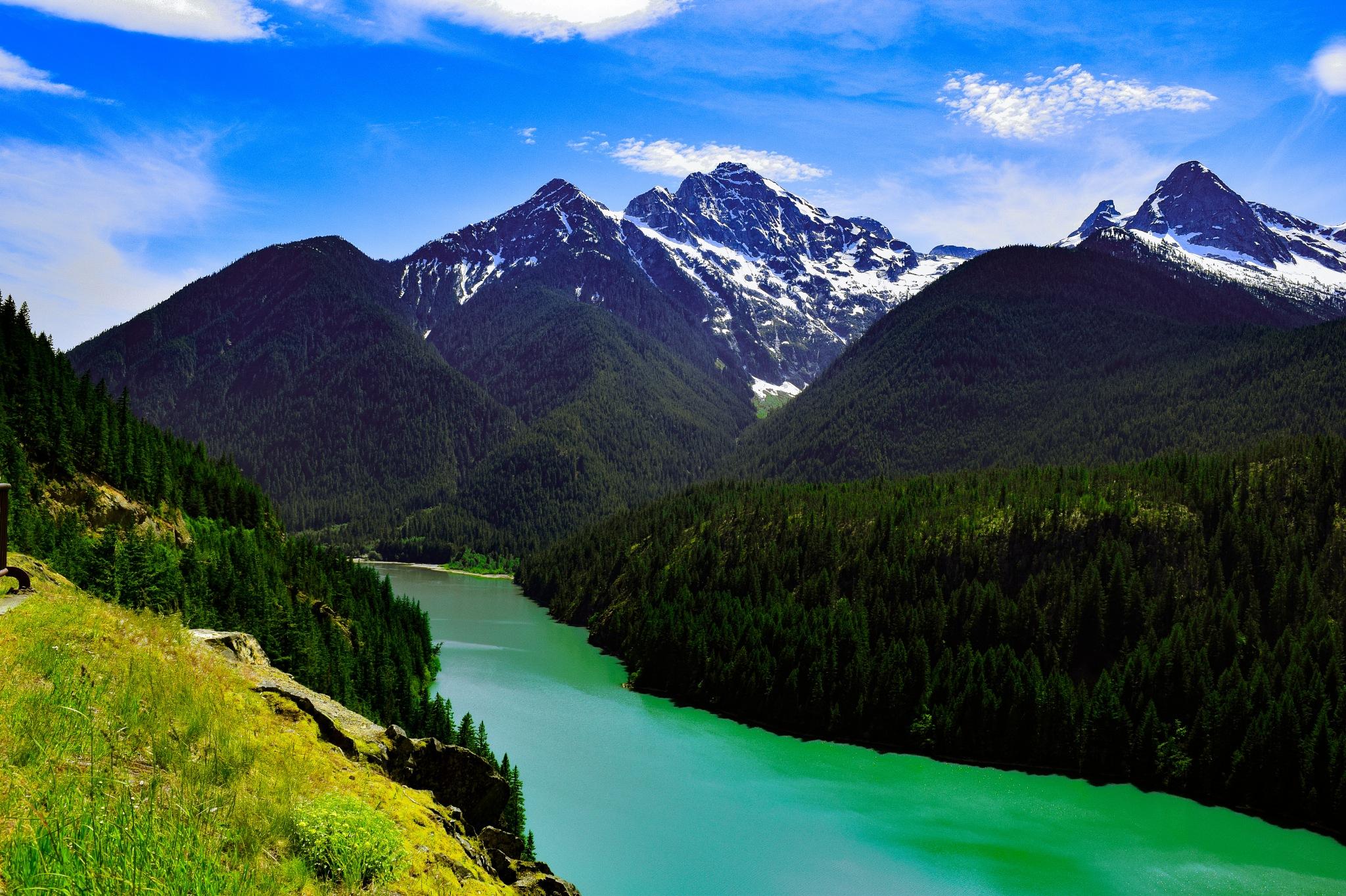 Diablo Lake by Casey Underwood