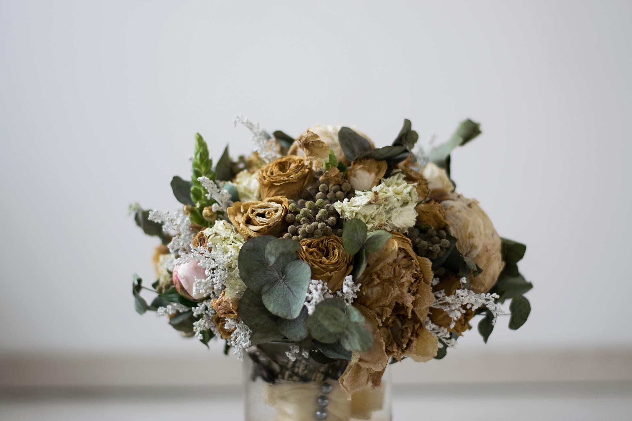 Wedding Bouquet by Dalia MC
