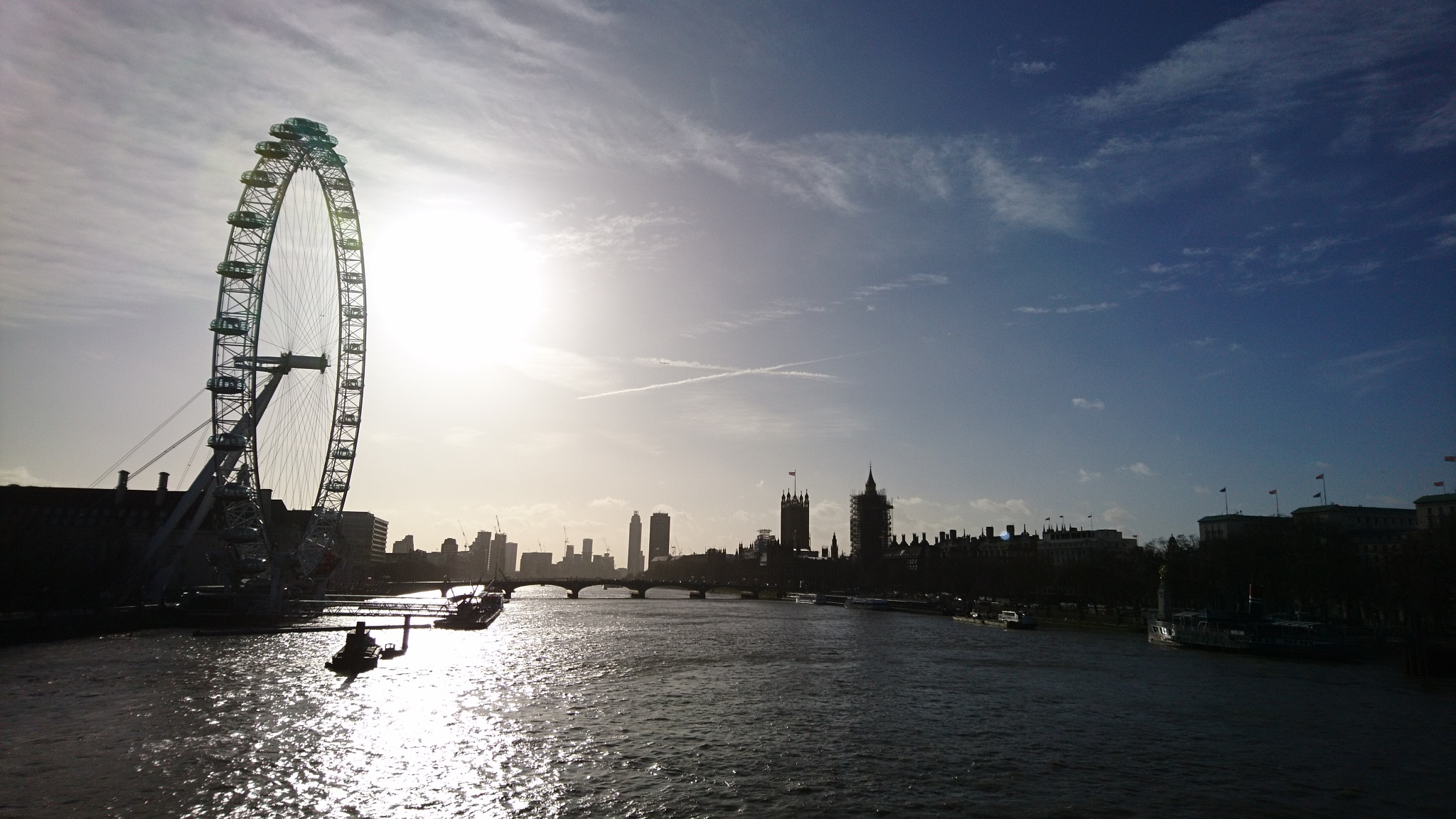 London in January  by Sophie Werner