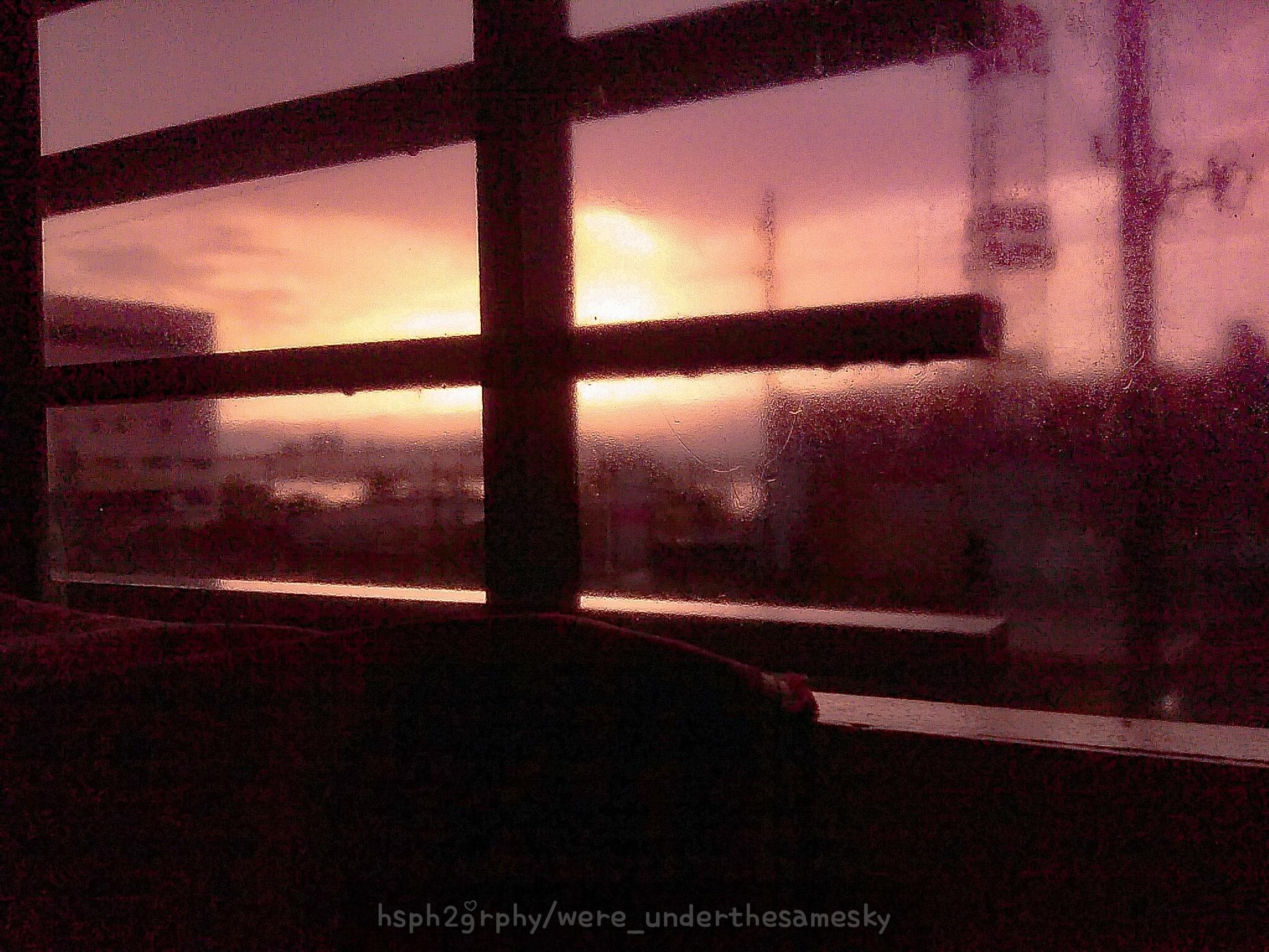 Sunset on a Rainy Day by were_underthesamesky