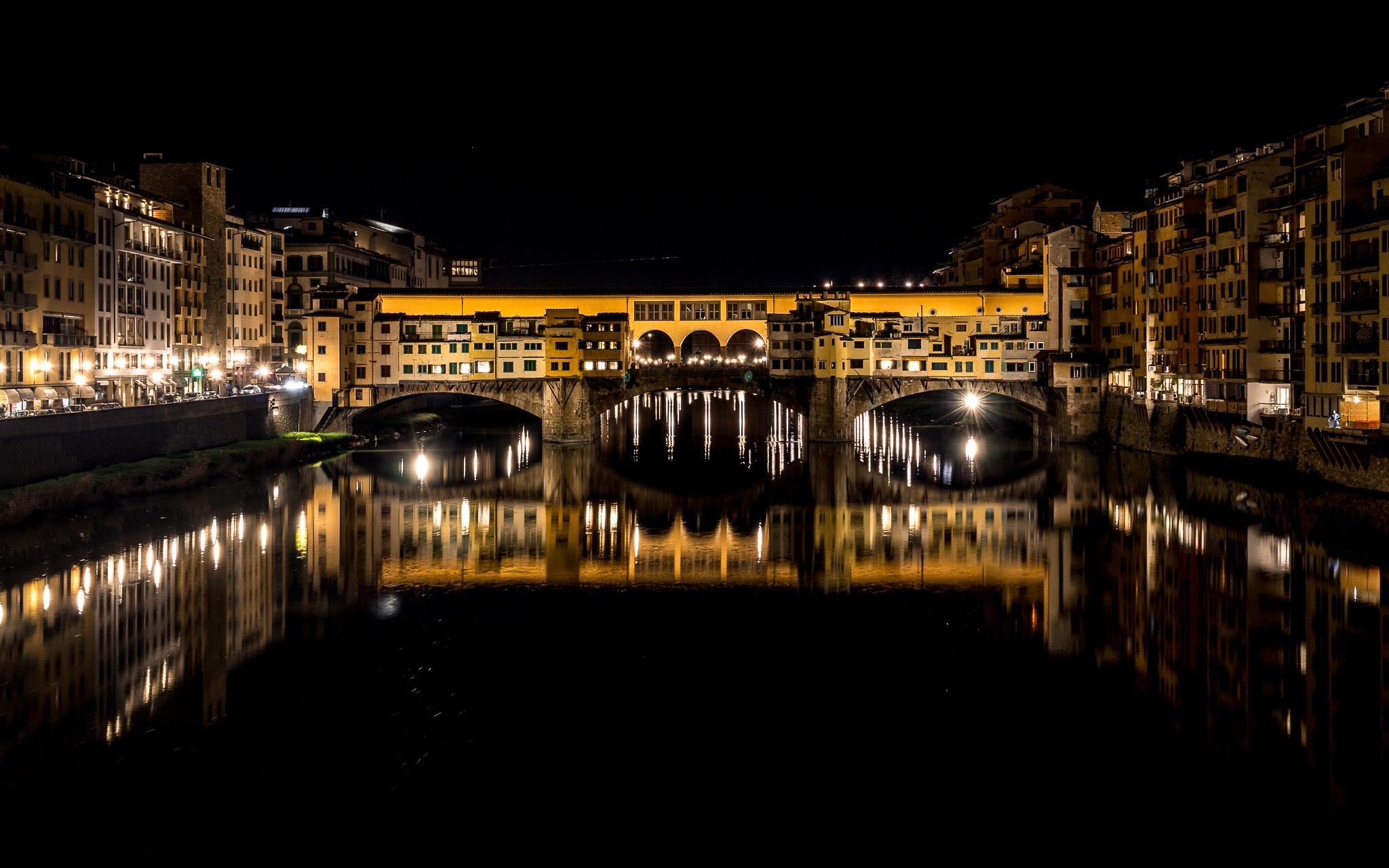 Ponte Vecchio Nights by Thomas Cotton