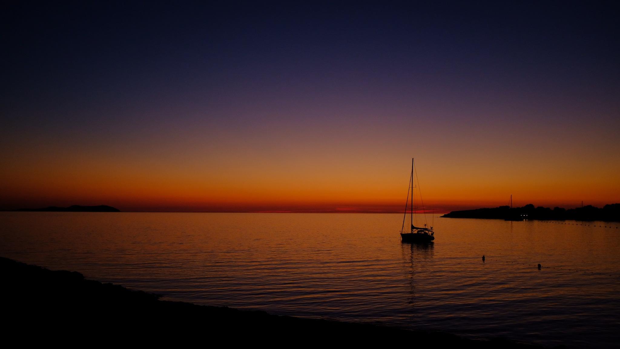 Ibiza Sunset - Cafe del Mar by Stefan Burgerhout