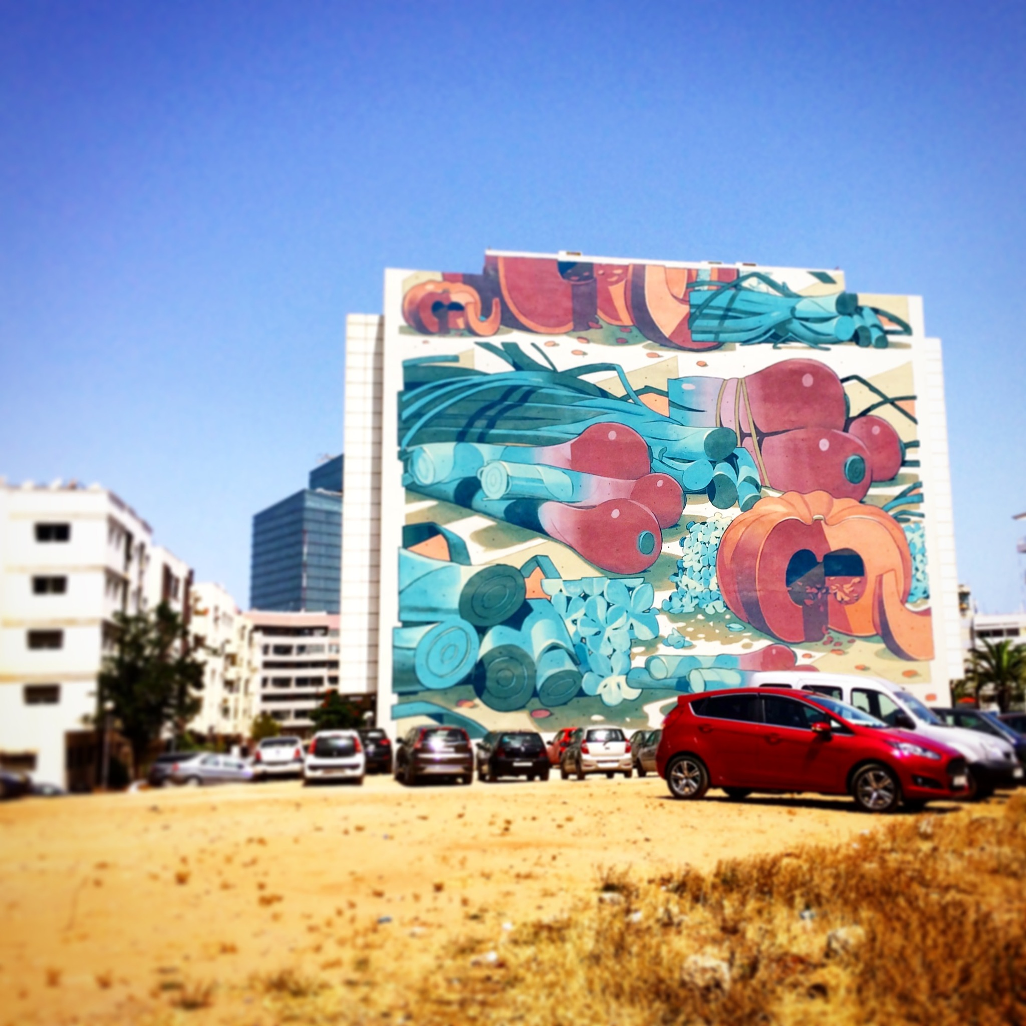 Morrocan streetart by Lina Vikman