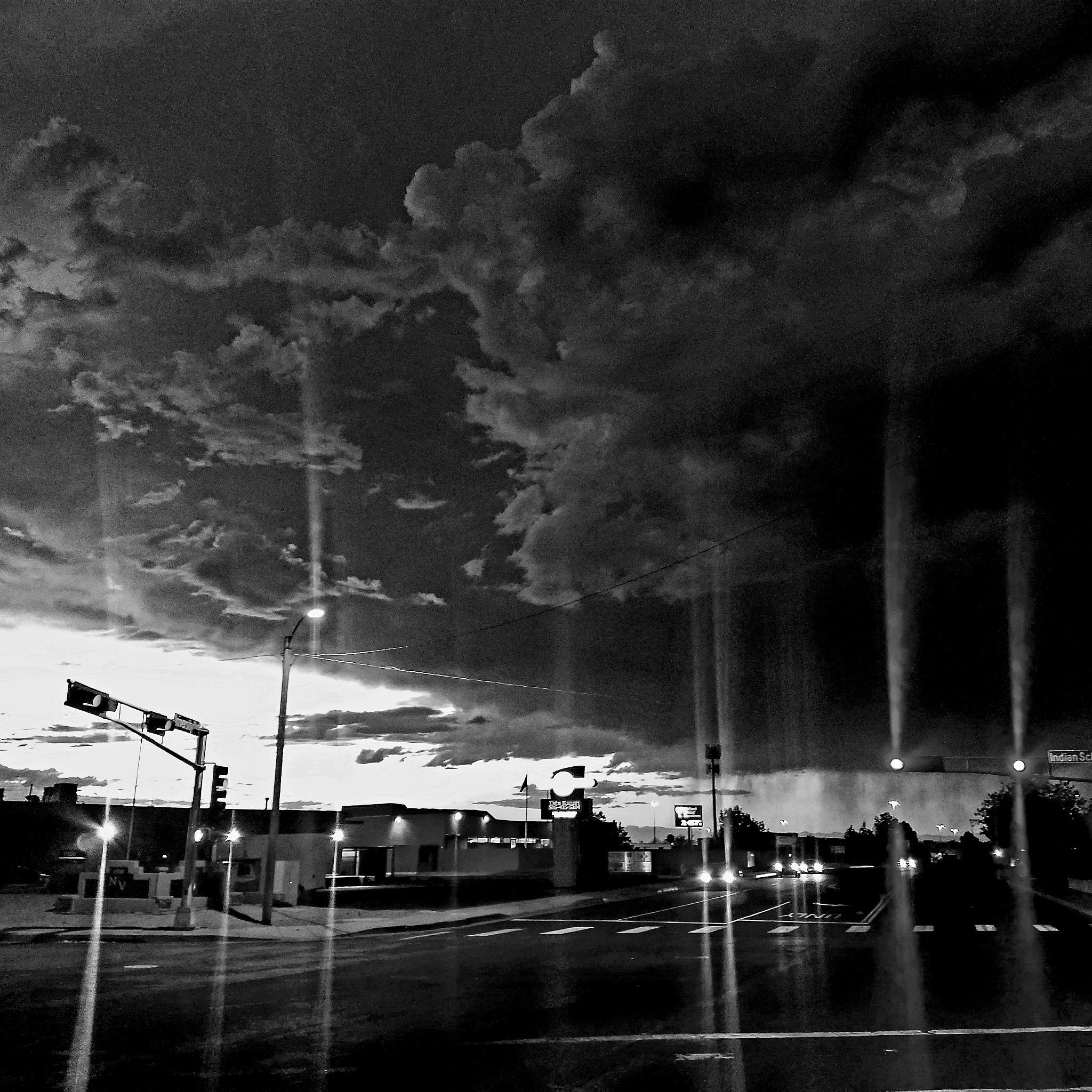City Lights  by Paula Lopez