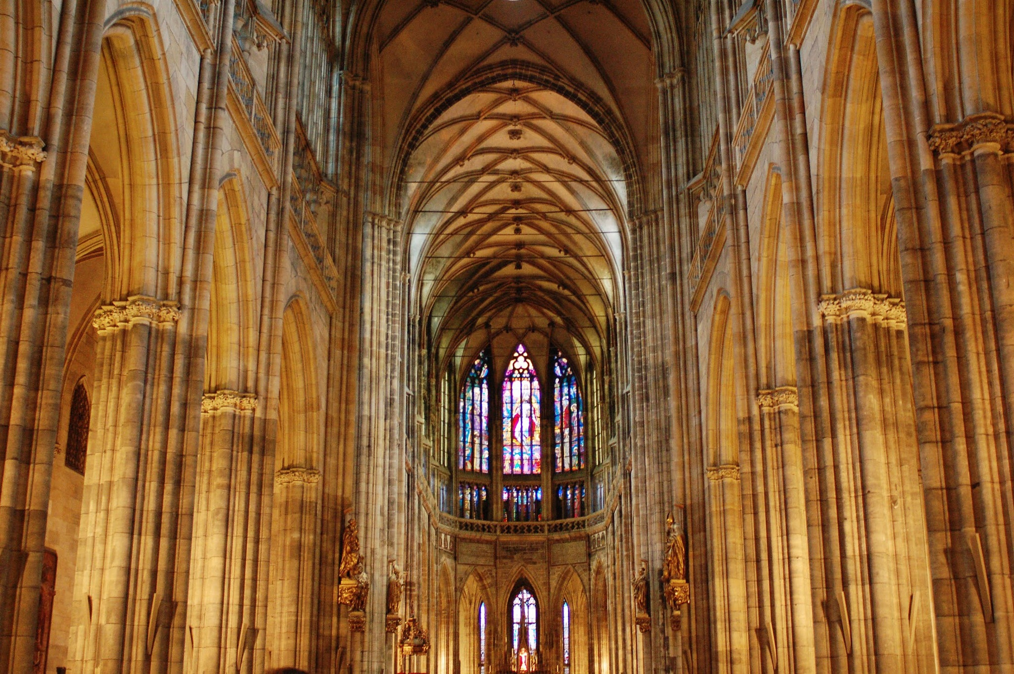 St Vitus Cathedral by Taylor McIntyre